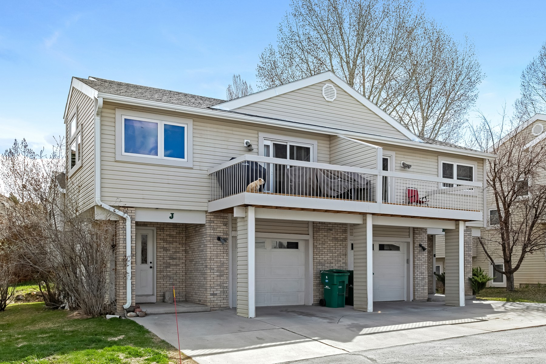 Duplex Homes for Sale at Just steps to the Eagle River 606 Price Lane #J Gypsum, Colorado 81637 United States