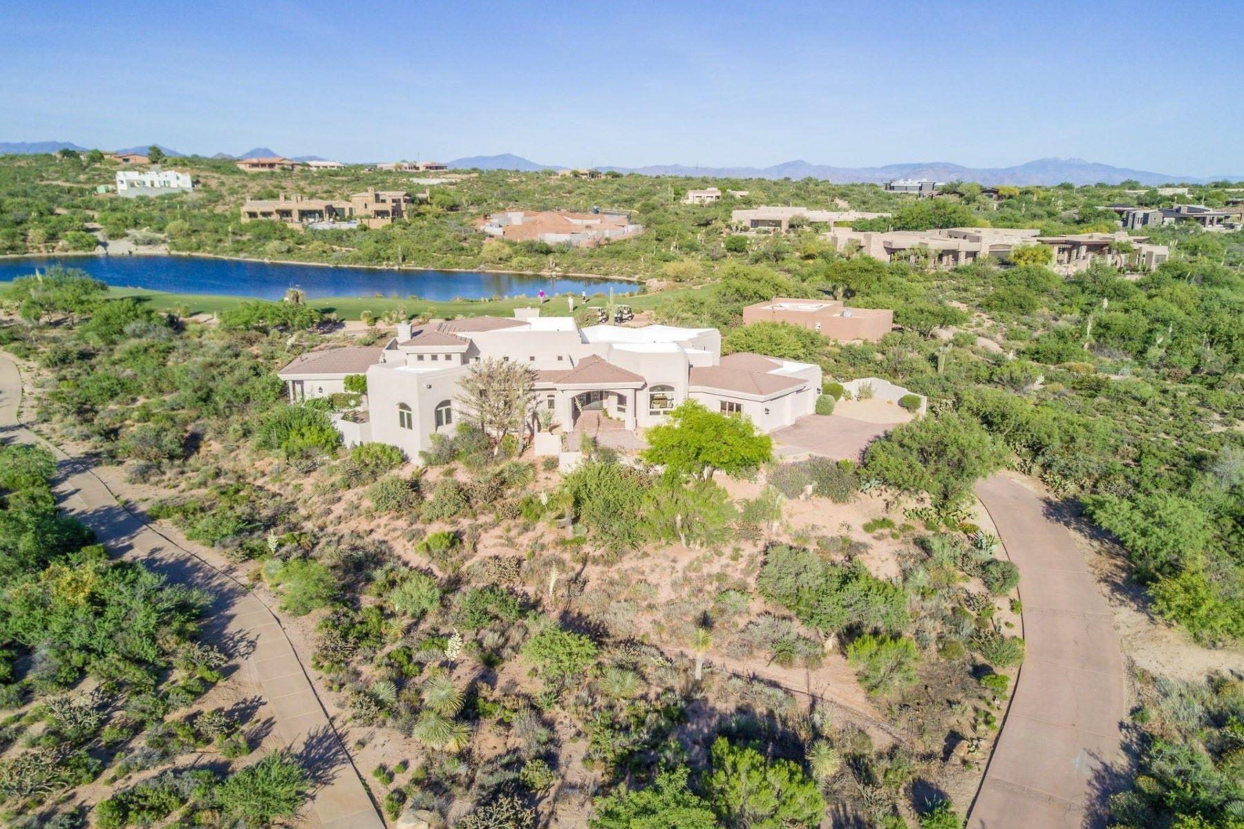 단독 가정 주택 용 매매 에 Gorgeous custom home in the Village of Painted Sky at Desert Mountain 11313 E Mesquite Dr Scottsdale, 아리조나, 85262 미국