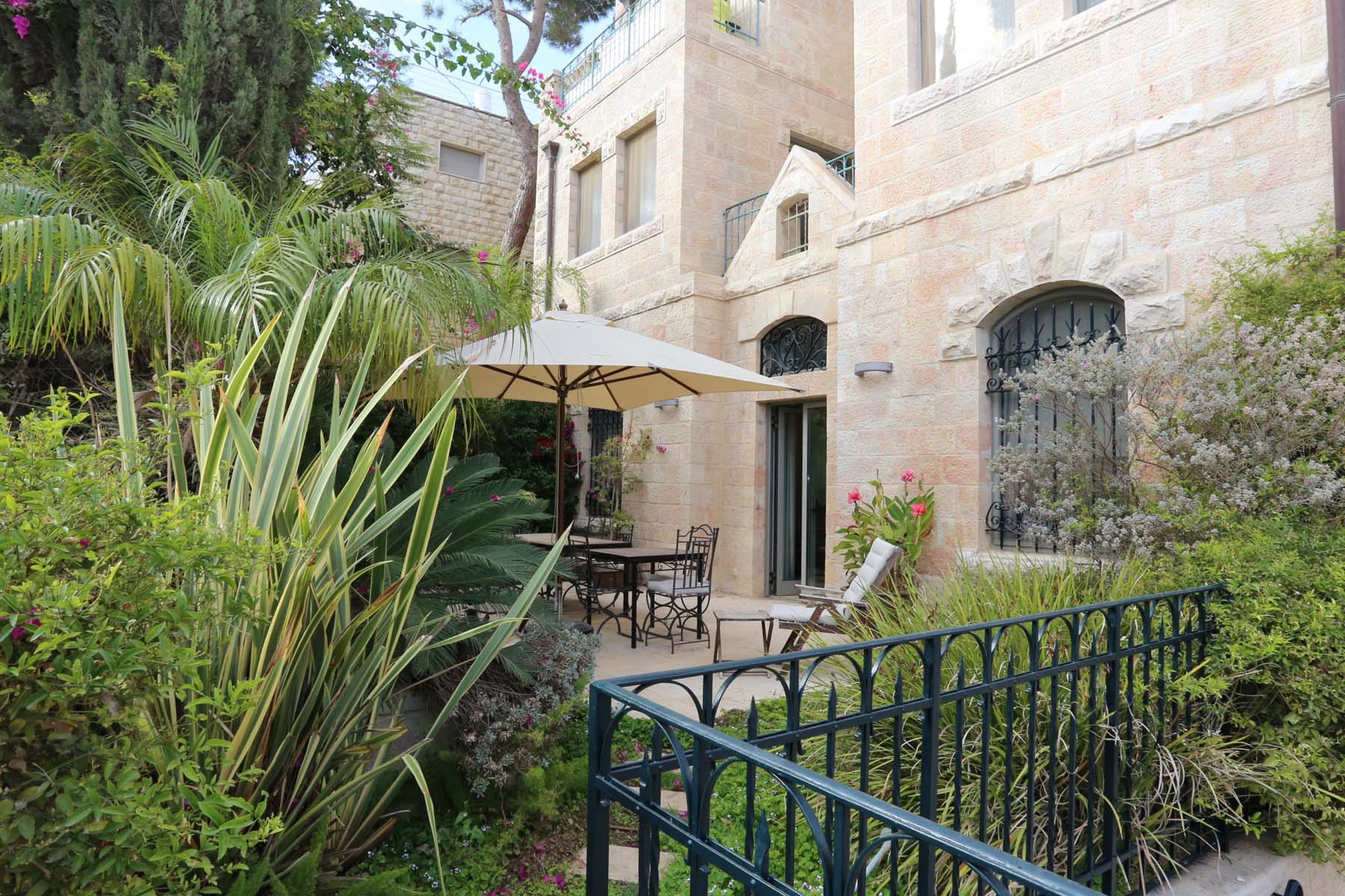 Apartment for Sale at Extraordinary Garden Apartment Jerusalem, Israel