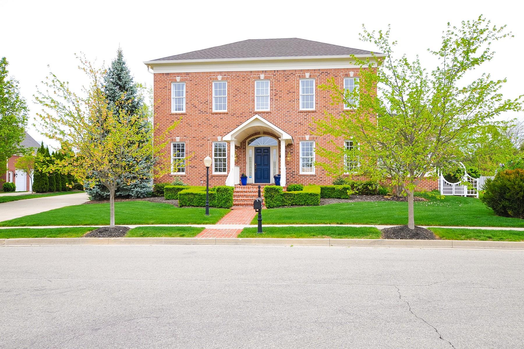 Maison unifamiliale pour l Vente à Immaculate Village of WestClay Home 1886 Broughton Street Carmel, Indiana, 46032 États-Unis