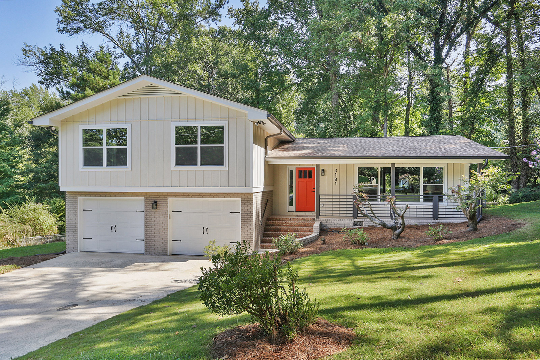 Single Family Homes for Active at Beautifully Renovated Contemporary Located on the Best Cul-de-sac in Chamblee 3181 Barkside Court Chamblee, Georgia 30341 United States
