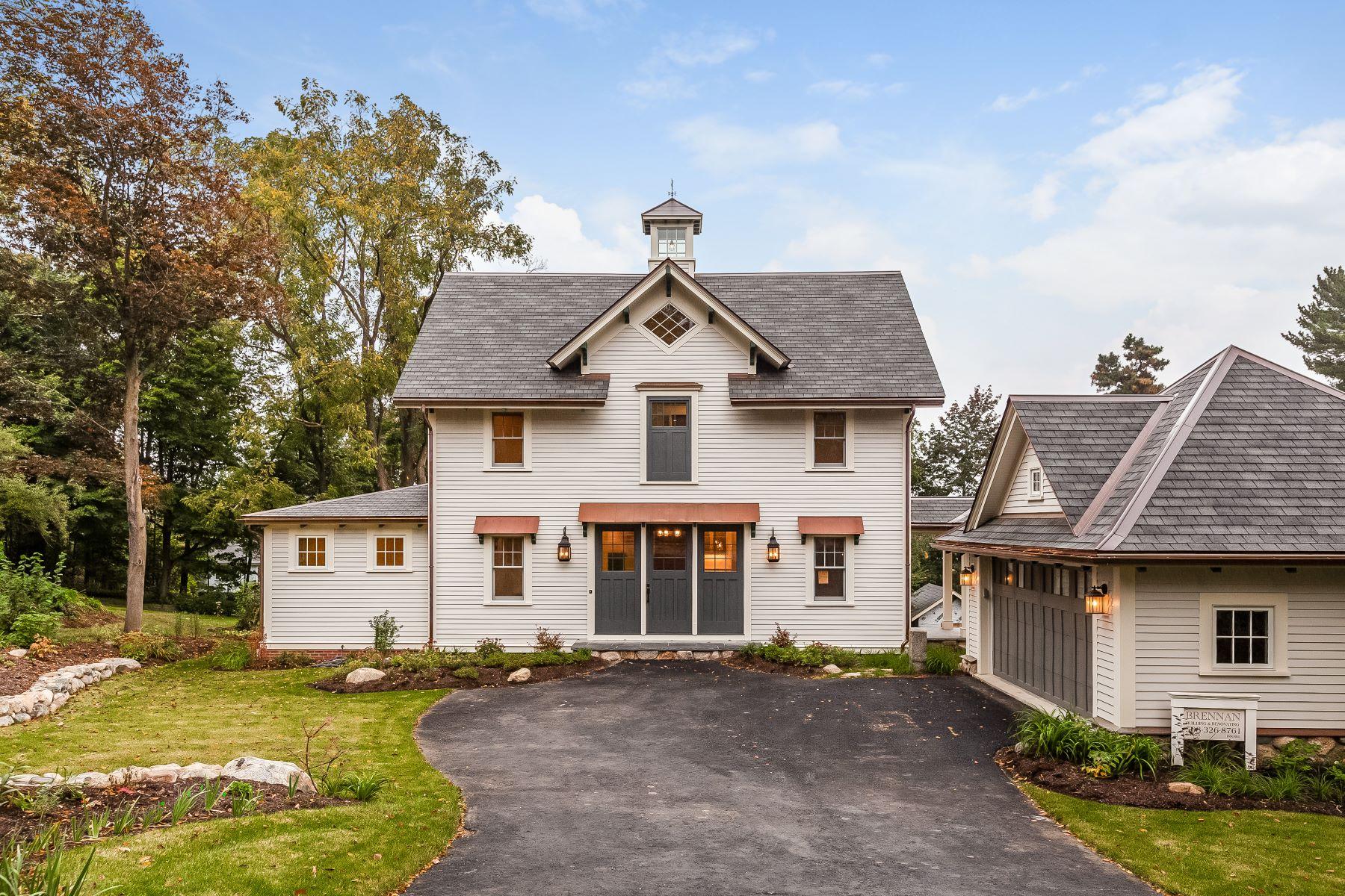 Single Family Homes pour l Vente à 17 Bellevue St Newton, Massachusetts 02458 États-Unis