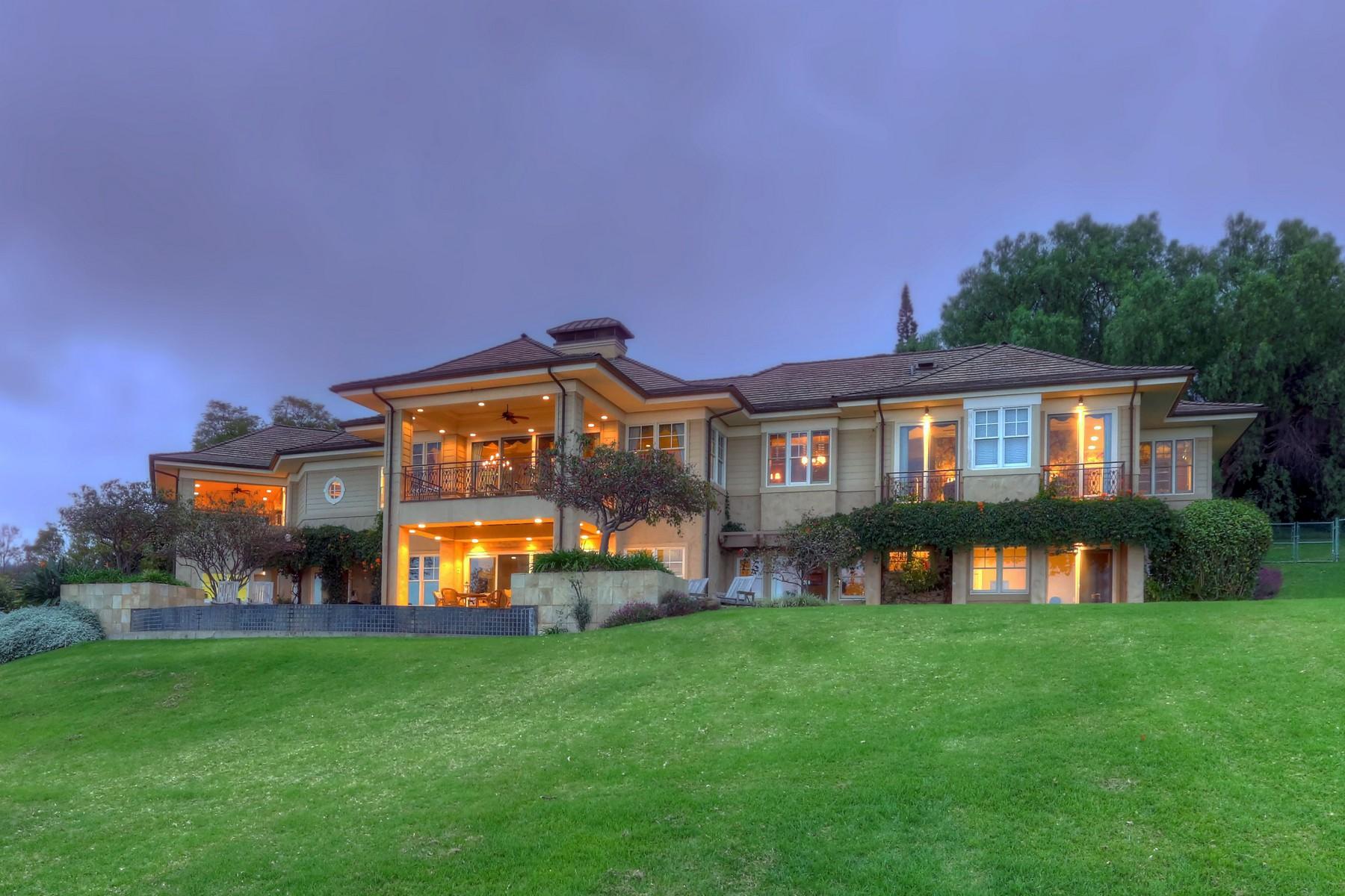 Villa per Vendita alle ore Architectural Masterpiece in Idyllic Lower Kula 3576 Lower Kula Road Kula, Hawaii, 96790 Stati Uniti