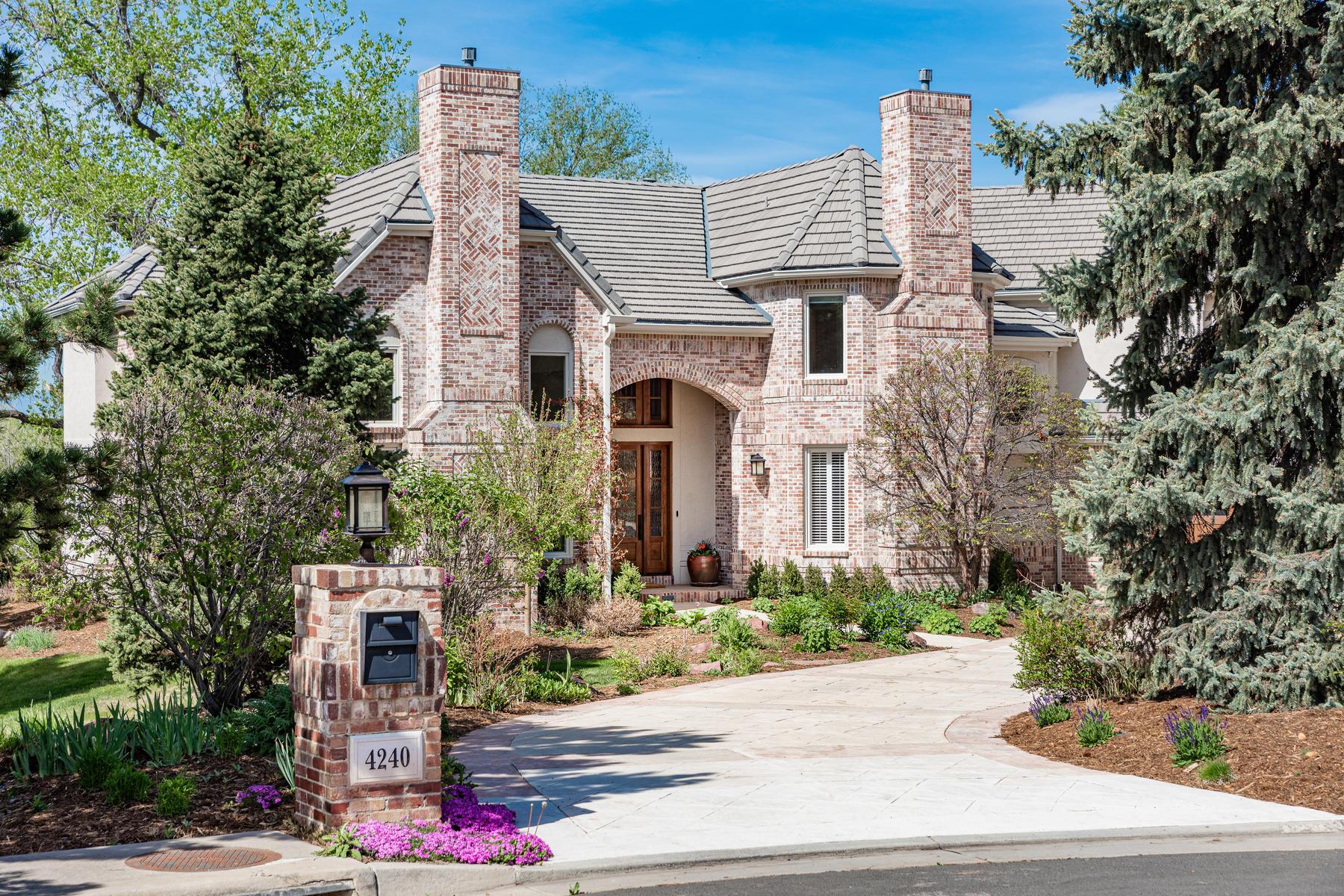 Single Family Homes por un Venta en 4240 E Perry Parkway Greenwood Village, Colorado 80121 Estados Unidos