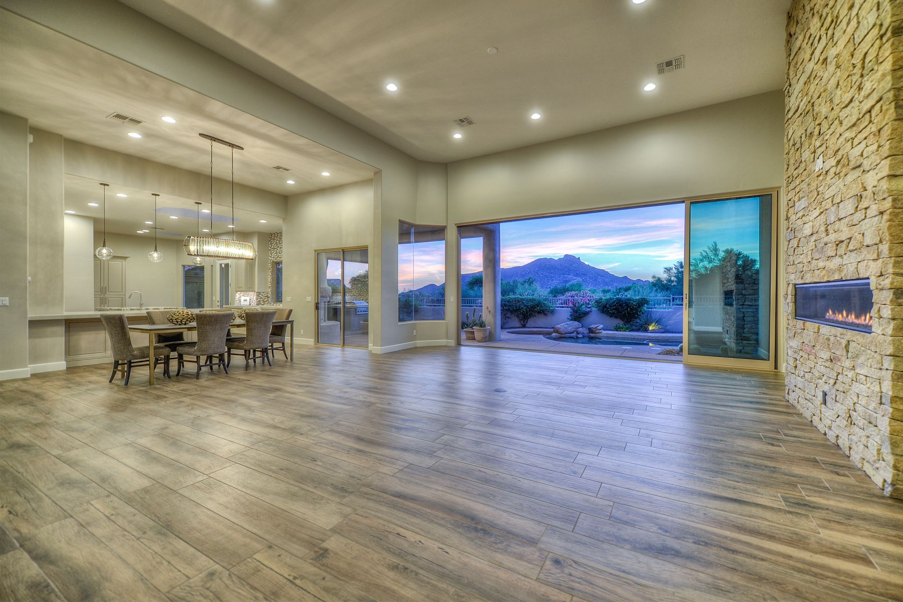 Single Family Home for Sale at Fully renovated custom home with spectacular views 3072 E Ironwood Rd Carefree, Arizona, 85377 United States