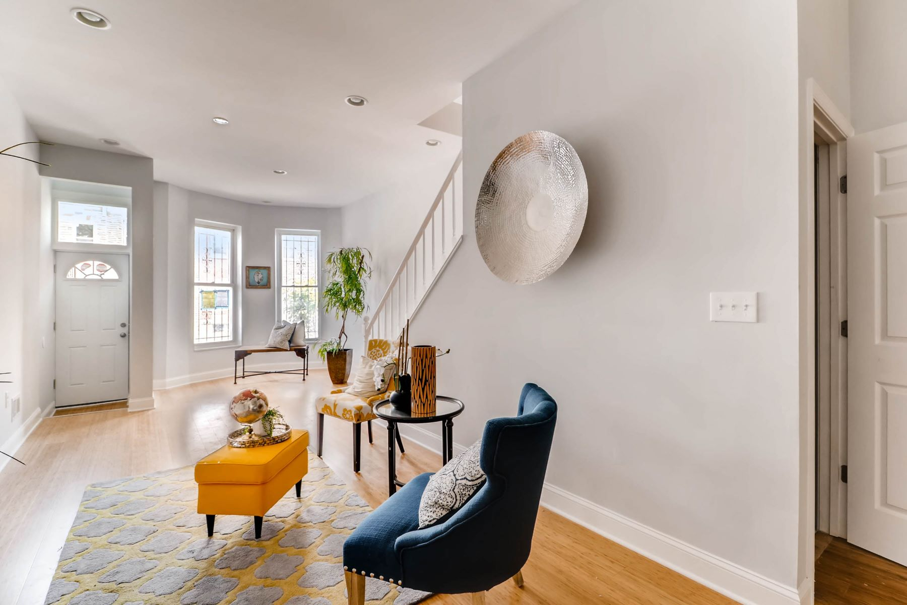 Частный односемейный дом для того Продажа на Patterson Park 730 North Patterson Park Avenue, Patterson Park, Baltimore, Мэриленд, 21205 Соединенные Штаты