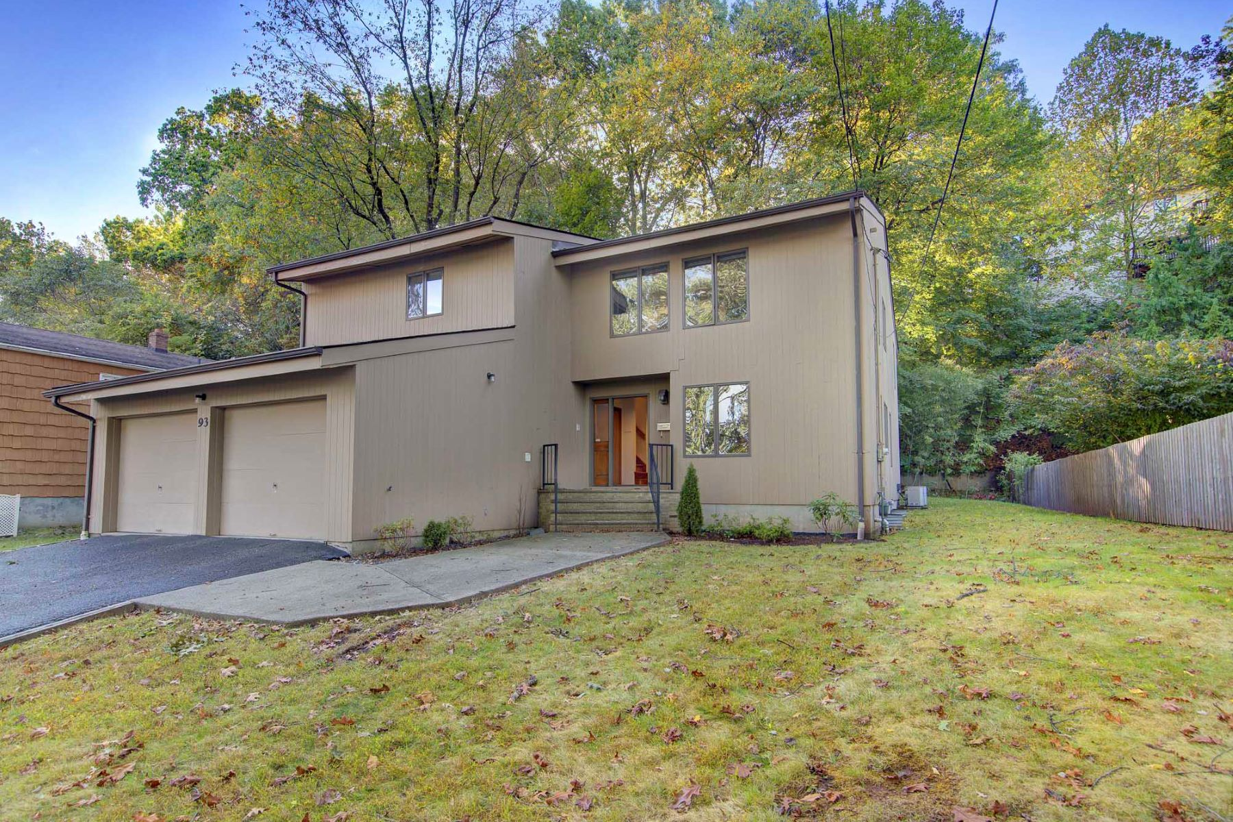 Single Family Homes for Sale at Oversized Contemporary 93 Cedar St, Cresskill, New Jersey 07626 United States