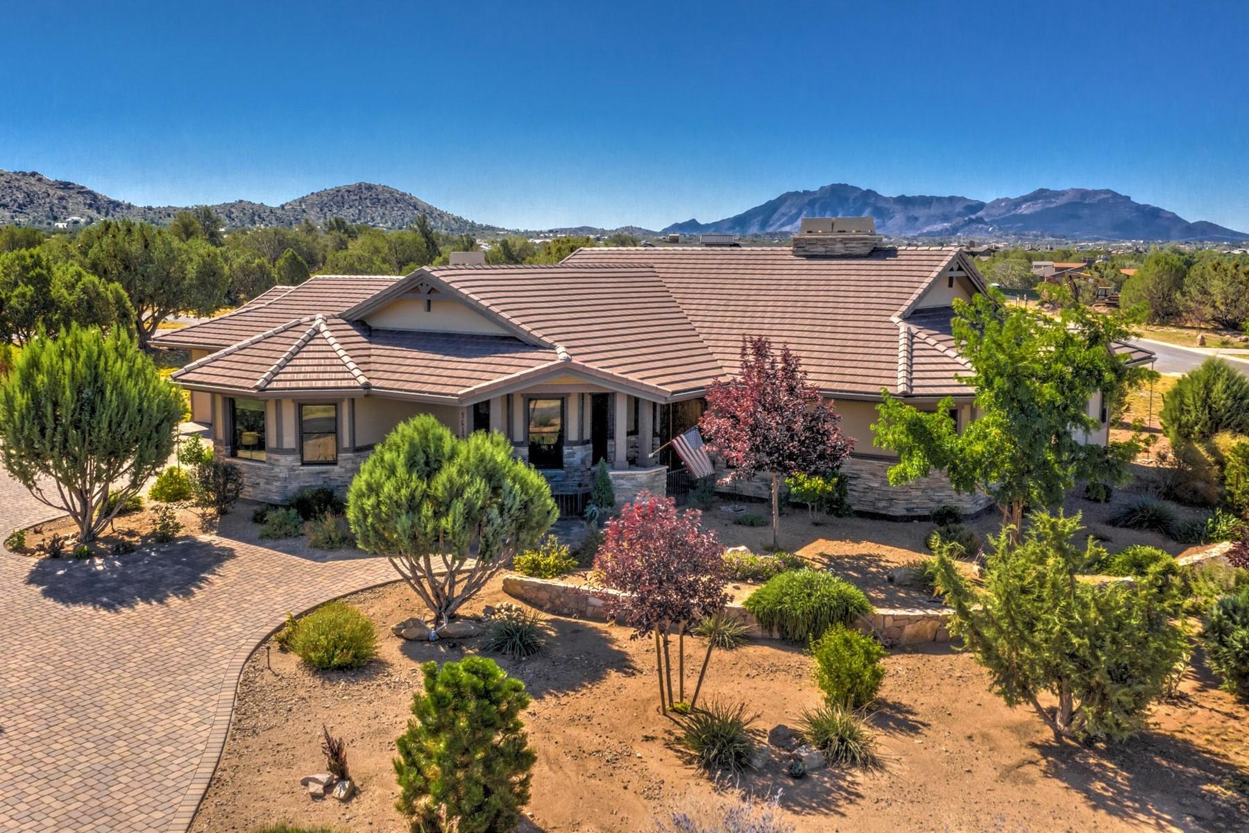 Single Family Homes 为 销售 在 Talking Rock Ranch Beauty 5615 W Saloon Trail 普雷斯科特, 亚利桑那州 86305 美国