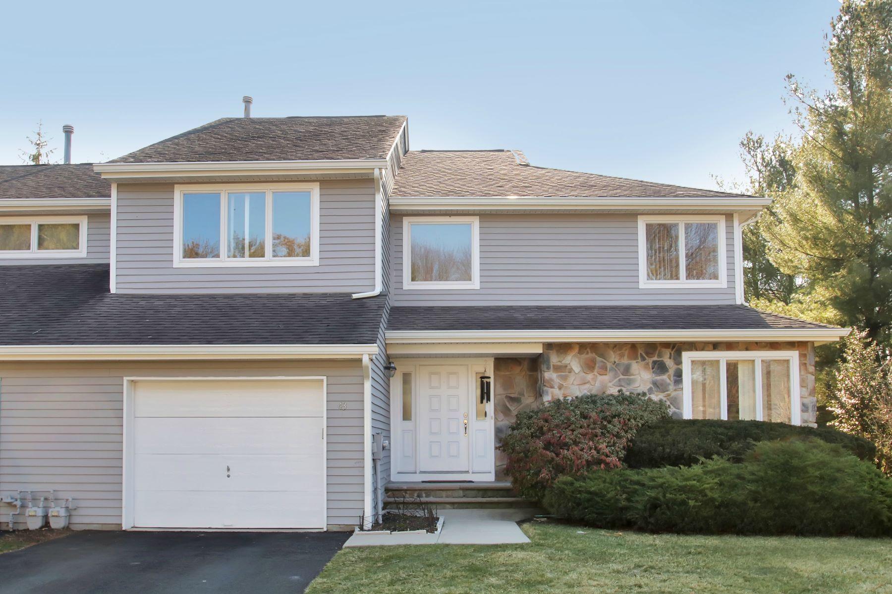 Maison accolée pour l Vente à End Unit at French Hill Estates 43 Matthew Road Wayne, New Jersey 07470 États-Unis