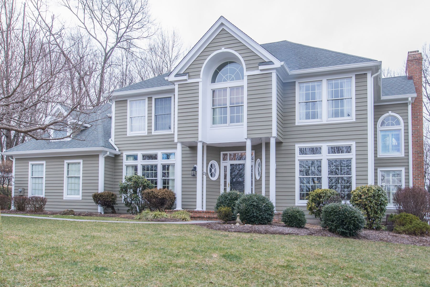 Single Family Home for Sale at Desirable Shadow Ridge Colonial 21 Ammerman Way, Chester, New Jersey 07930 United States