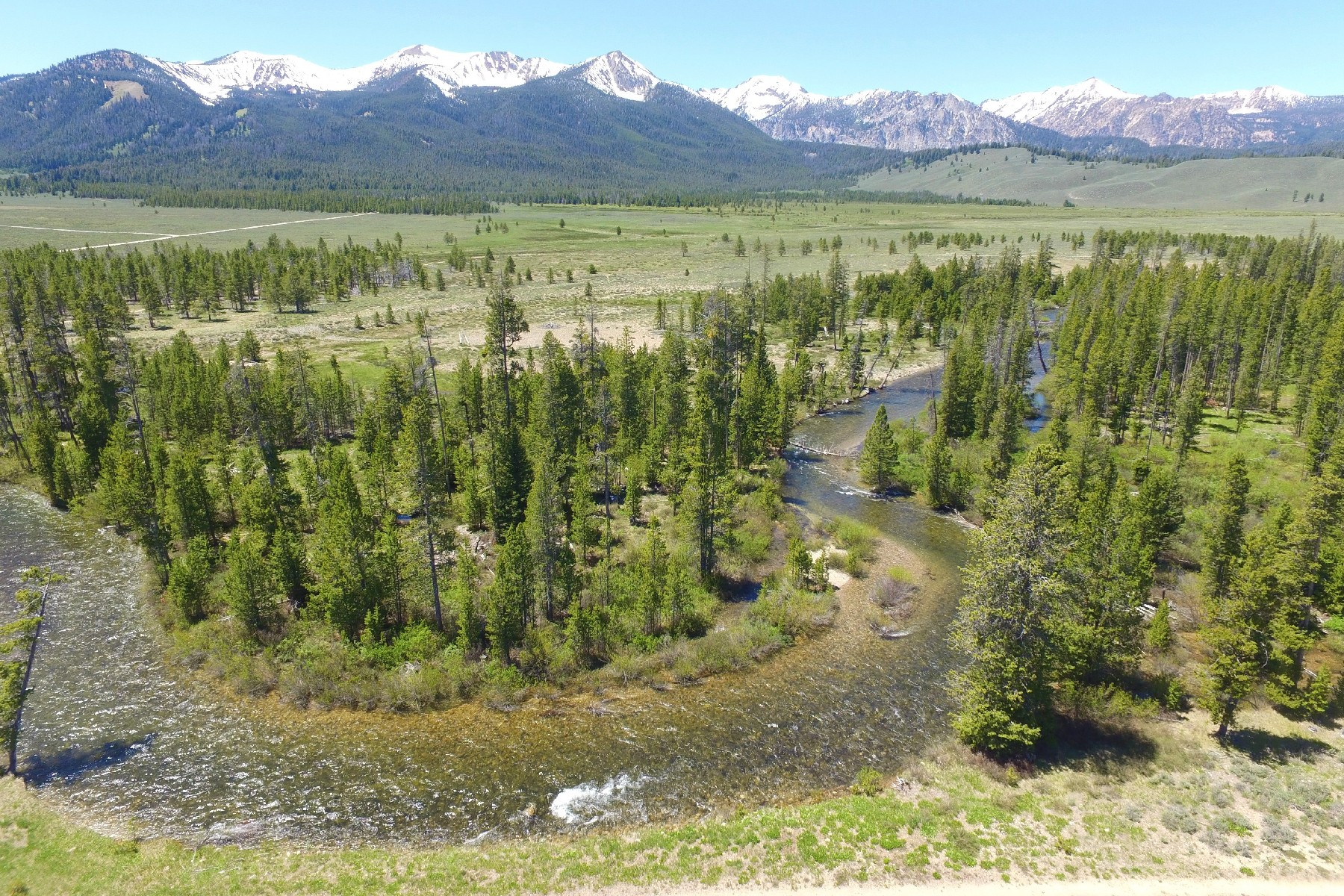 Land for Active at 40 Acres On A Creek In The Sawtooth Valley Cabin Creek Rd Sawtooth City, Idaho 83340 United States
