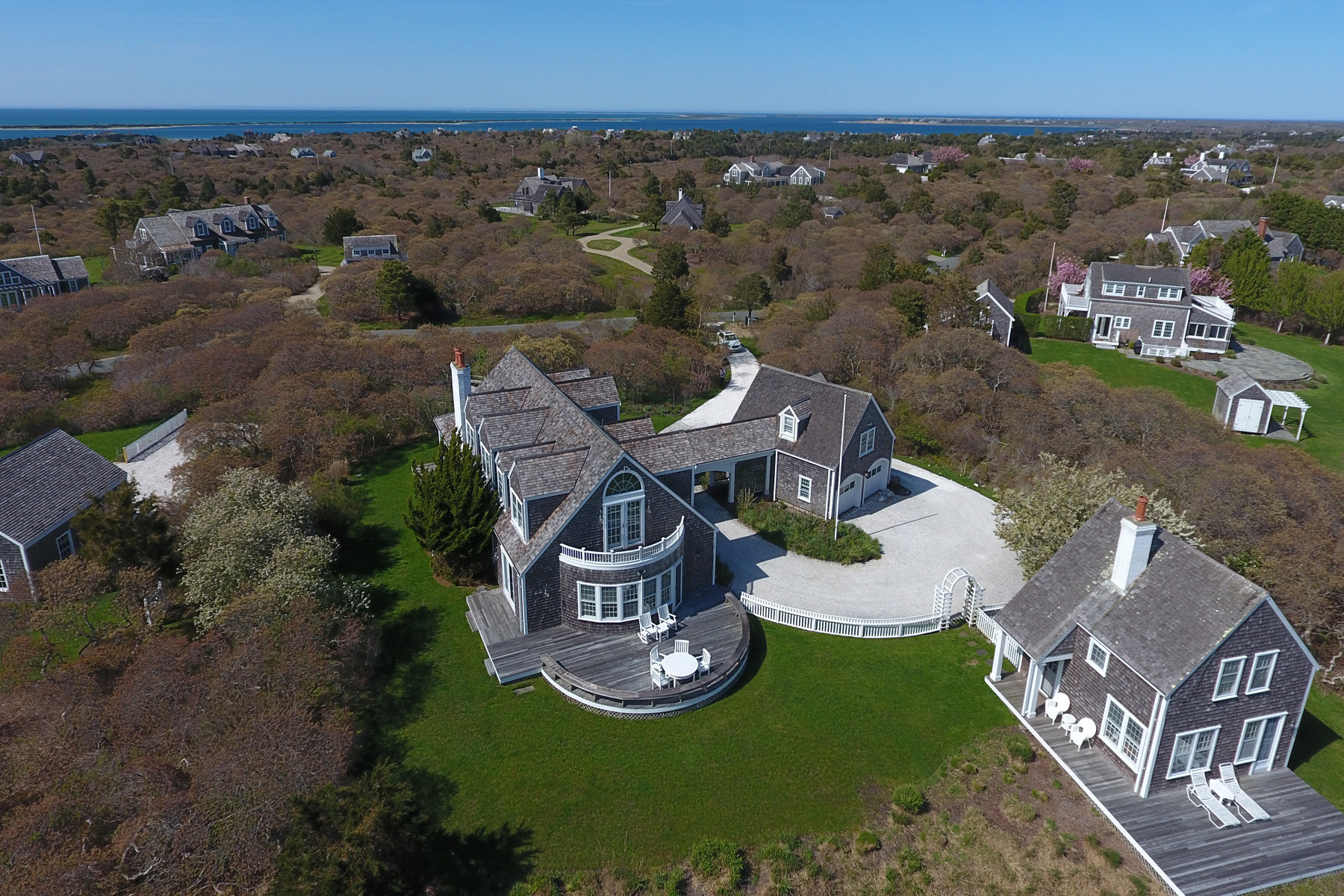 Single Family Home for Sale at Privacy and Serenity and Truly Charming 13 North Pasture Lane Nantucket, Massachusetts, 02554 United States