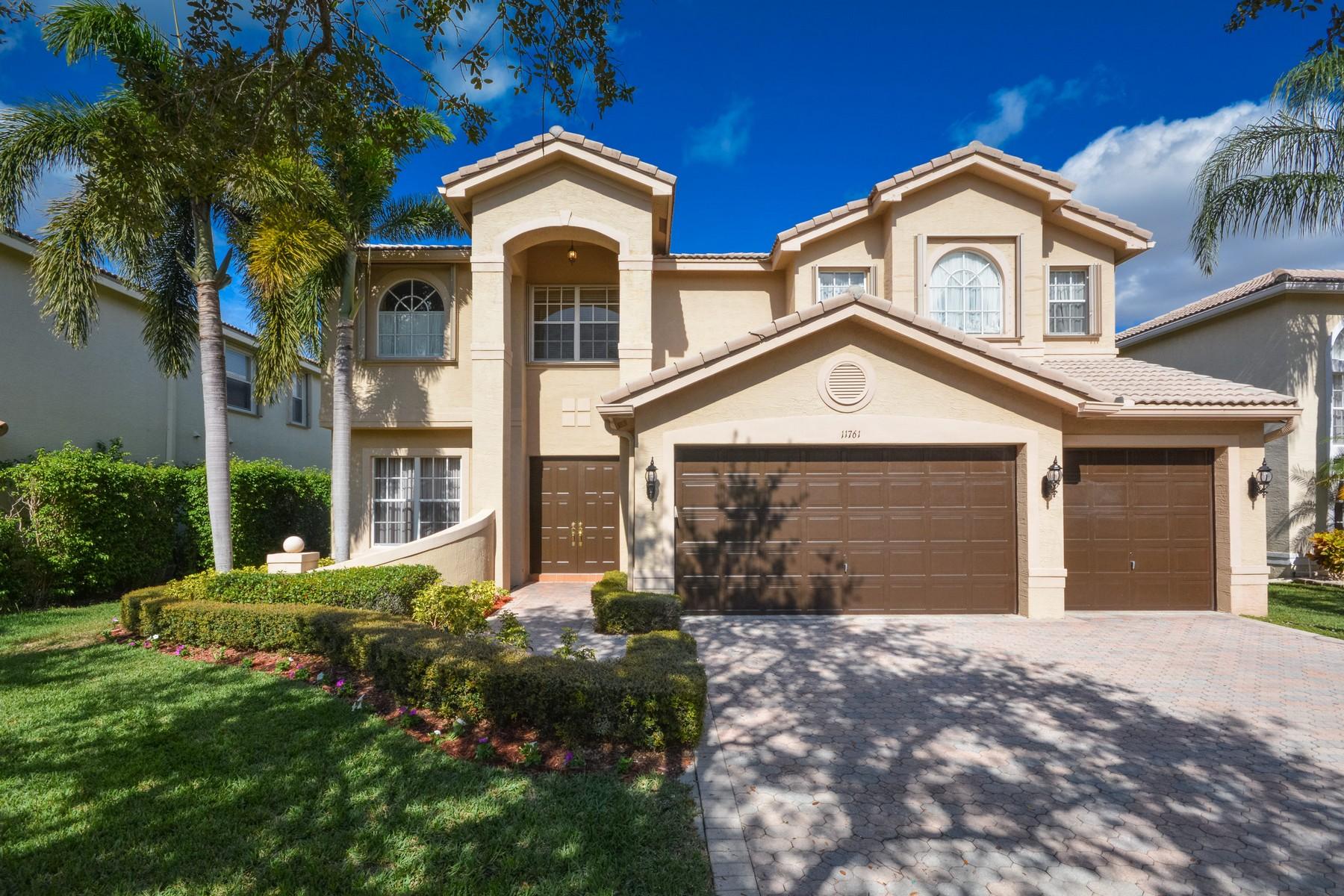 Частный односемейный дом для того Продажа на 11761 Preservation Ln , Boca Raton, FL 33498 11761 Preservation Ln, Boca Raton, Флорида, 33498 Соединенные Штаты