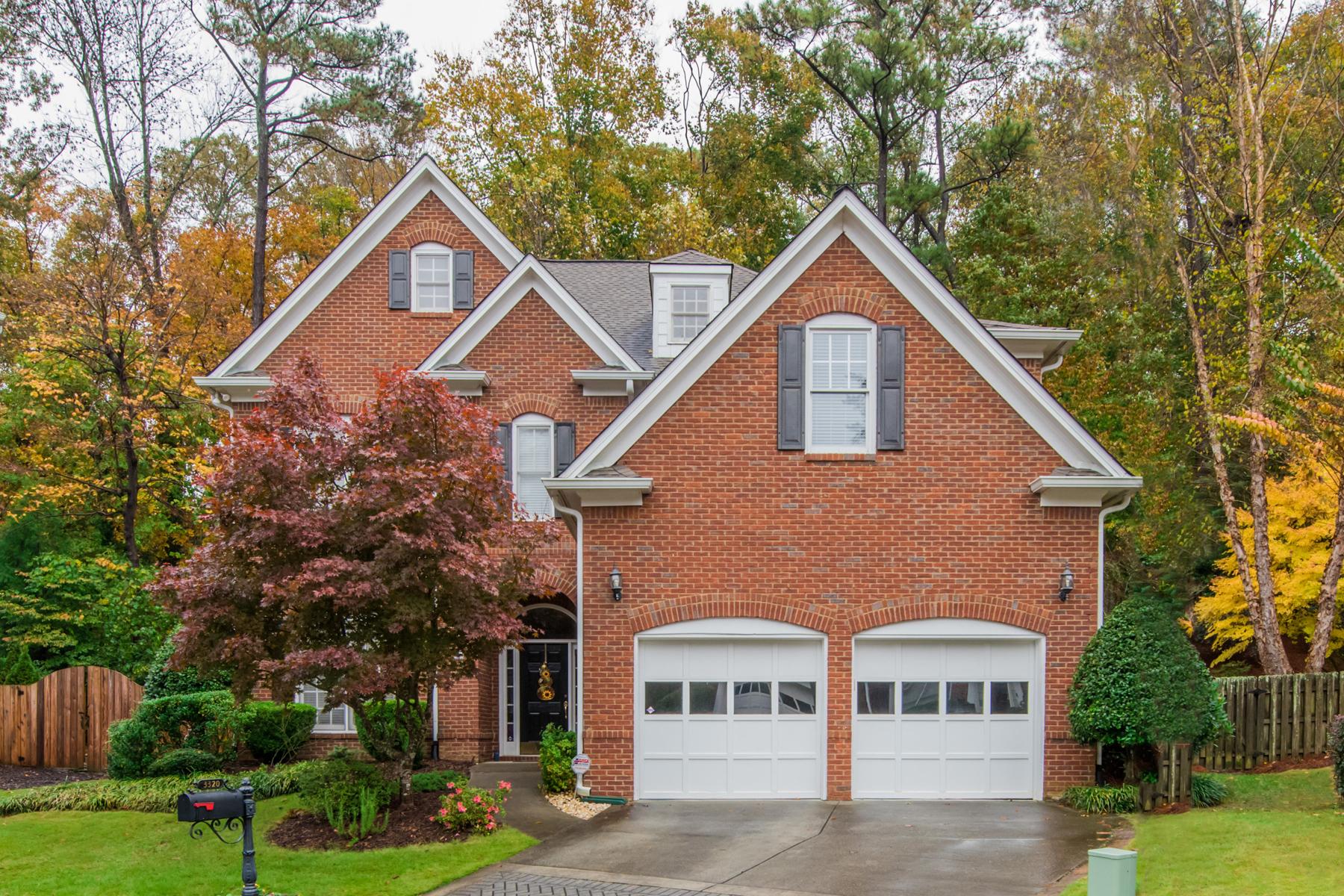 Single Family Home for Sale at Beautiful Windsor Park Traditional 3320 Windsor Lake Drive NE Brookhaven, Georgia 30319 United States