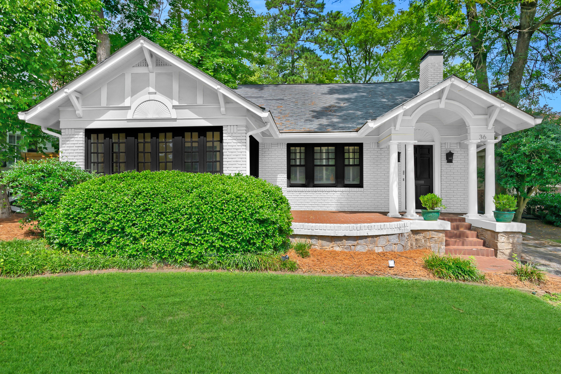 Single Family Homes for Sale at Located Directly Across The Street From Ansley Golf Course 36 Polo Drive Atlanta, Georgia 30309 United States