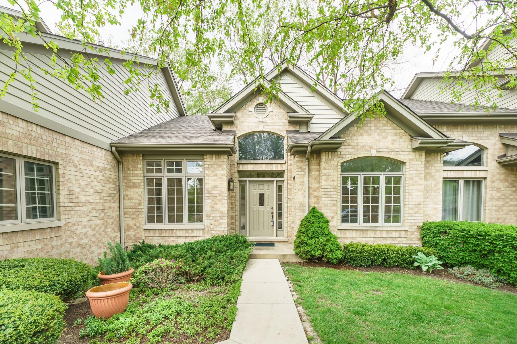 Частный односемейный дом для того Продажа на 1409 48th. Ct. South 1408 49th. Court South Western Springs, Иллинойс, 60558 Соединенные Штаты