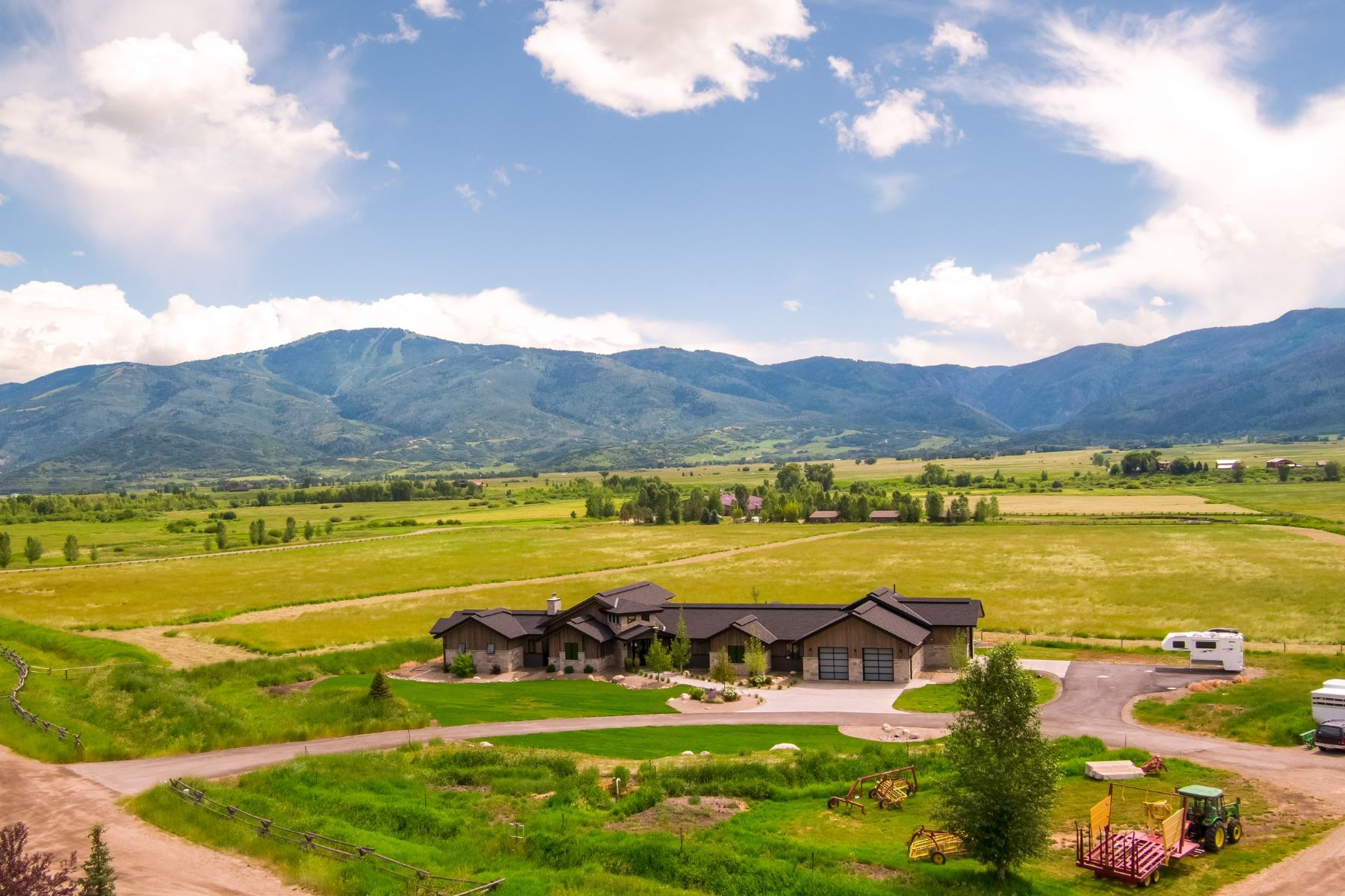 Single Family Homes 為 出售 在 Wandering Creek Ranch 33850 County Road 14, Steamboat Springs, 科羅拉多州 80487 美國