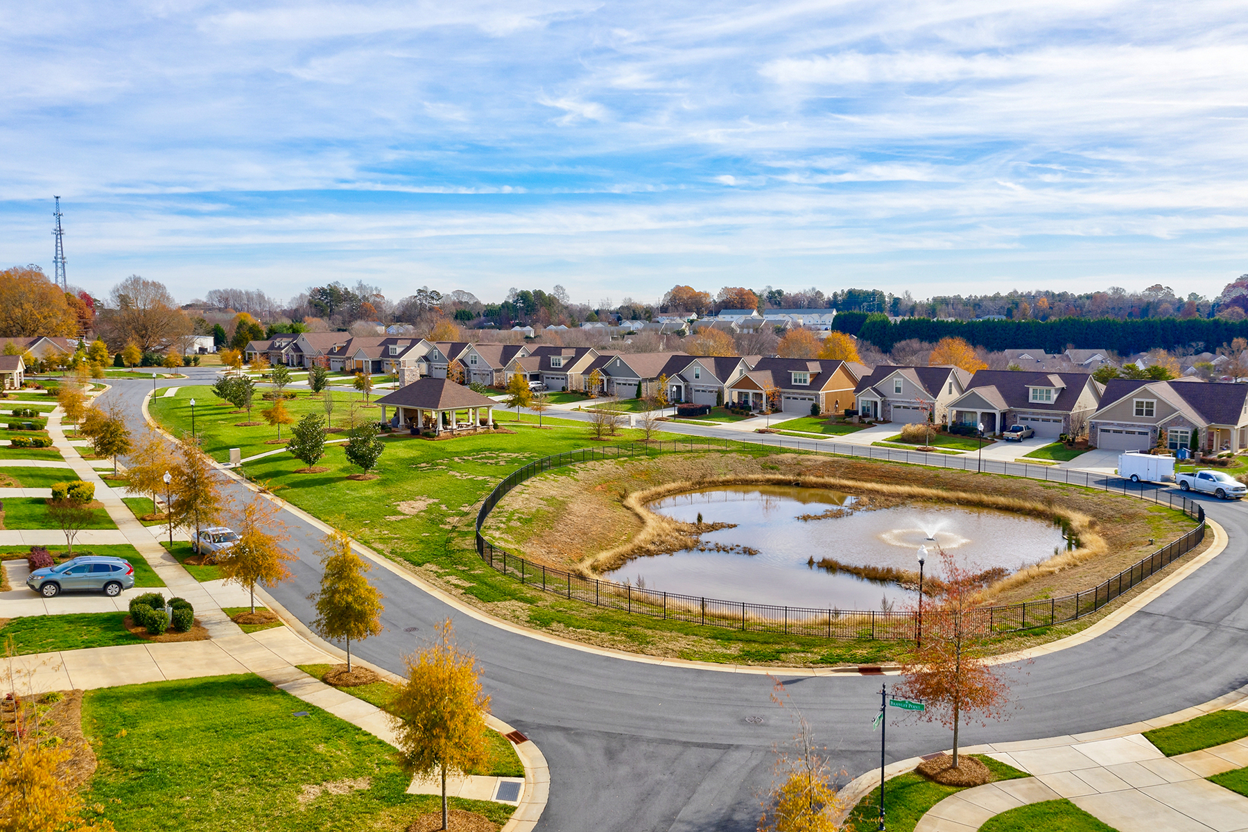 Single Family Homes for Active at THE COURTYARDS AT BRAWLEY POINT 147 Brawley Point Cir Mooresville, North Carolina 28117 United States