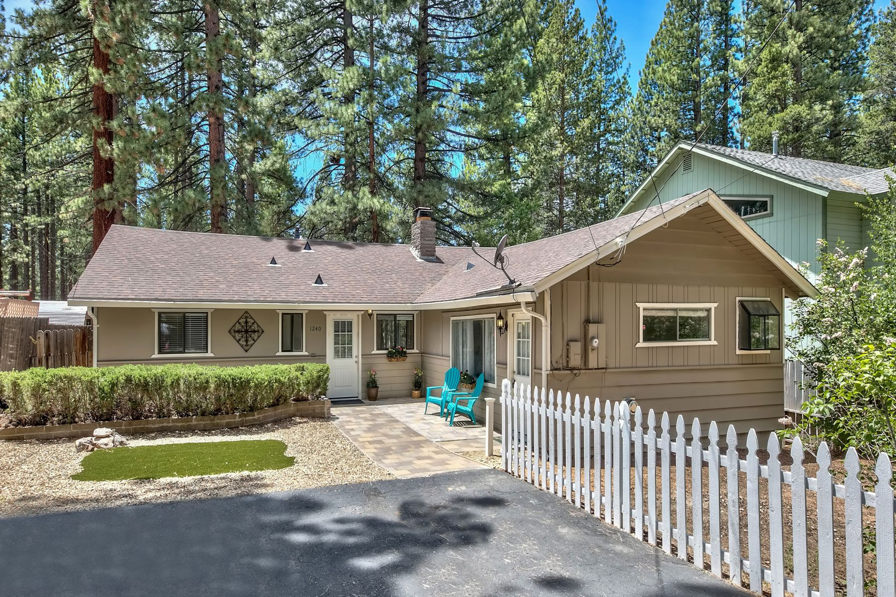 Property for Active at Tahoe Sierra Getaway on Meadow 1240 Beecher Avenue South Lake Tahoe, California 96150 United States