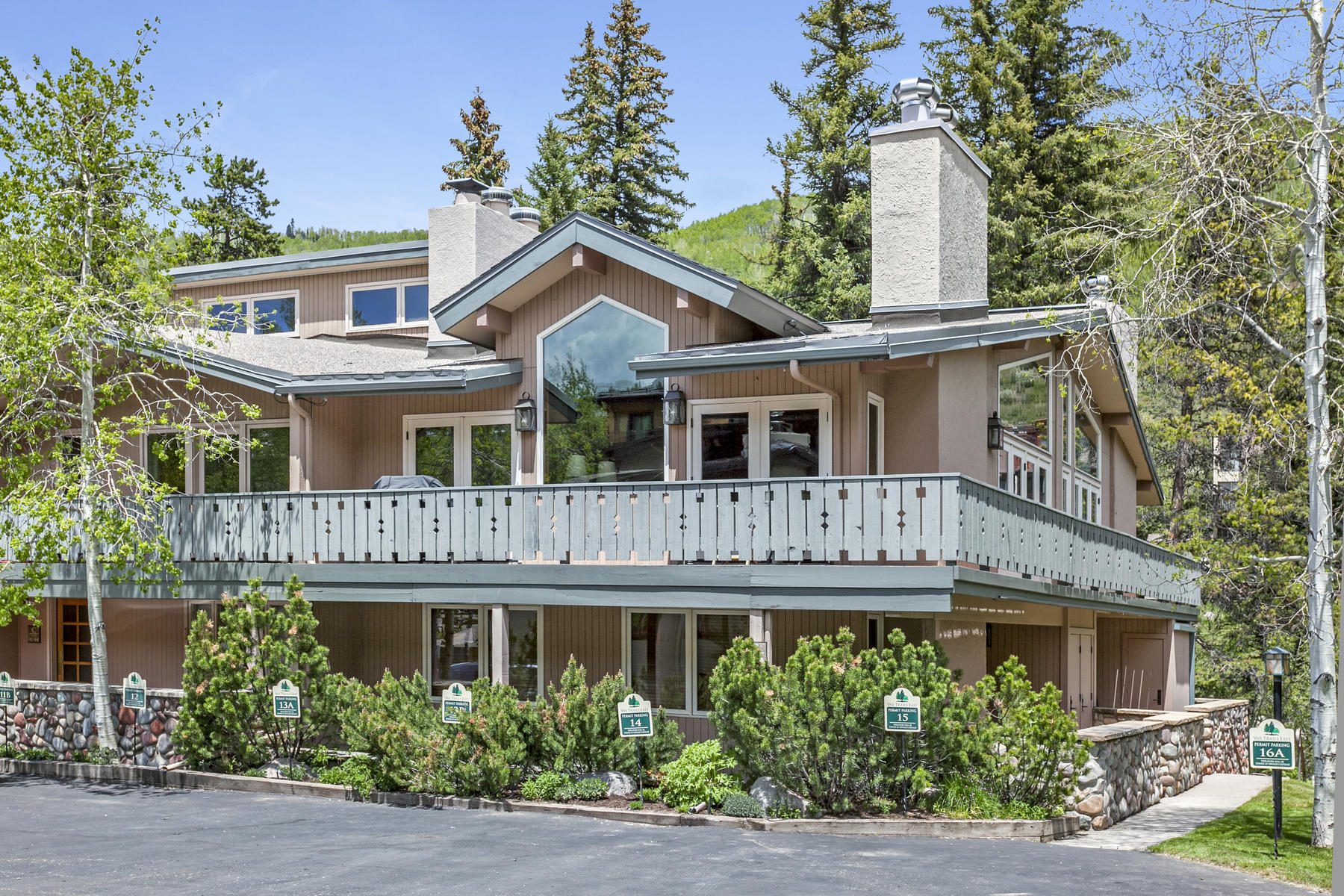 Condominium for Active at In the Heart of Vail Village 433 Gore Creek Drive #14 Vail, Colorado 81657 United States