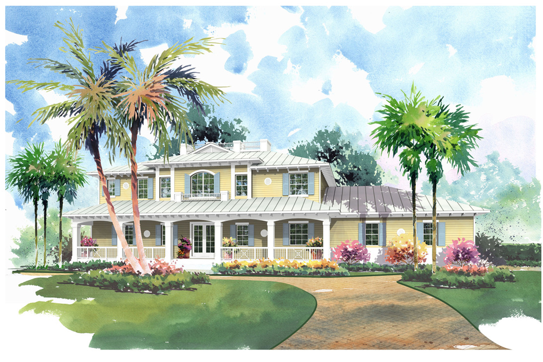 Maison unifamiliale pour l Vente à New Construction Home at Ocean Reef 17 Country Club Road Key Largo, Florida, 33037 États-Unis
