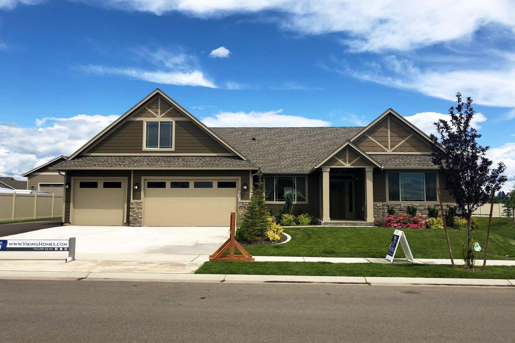 Single Family Homes for Sale at Viking Builders Victoria bonus floor plan! 537 Summerview Lane Richland, Washington 99352 United States
