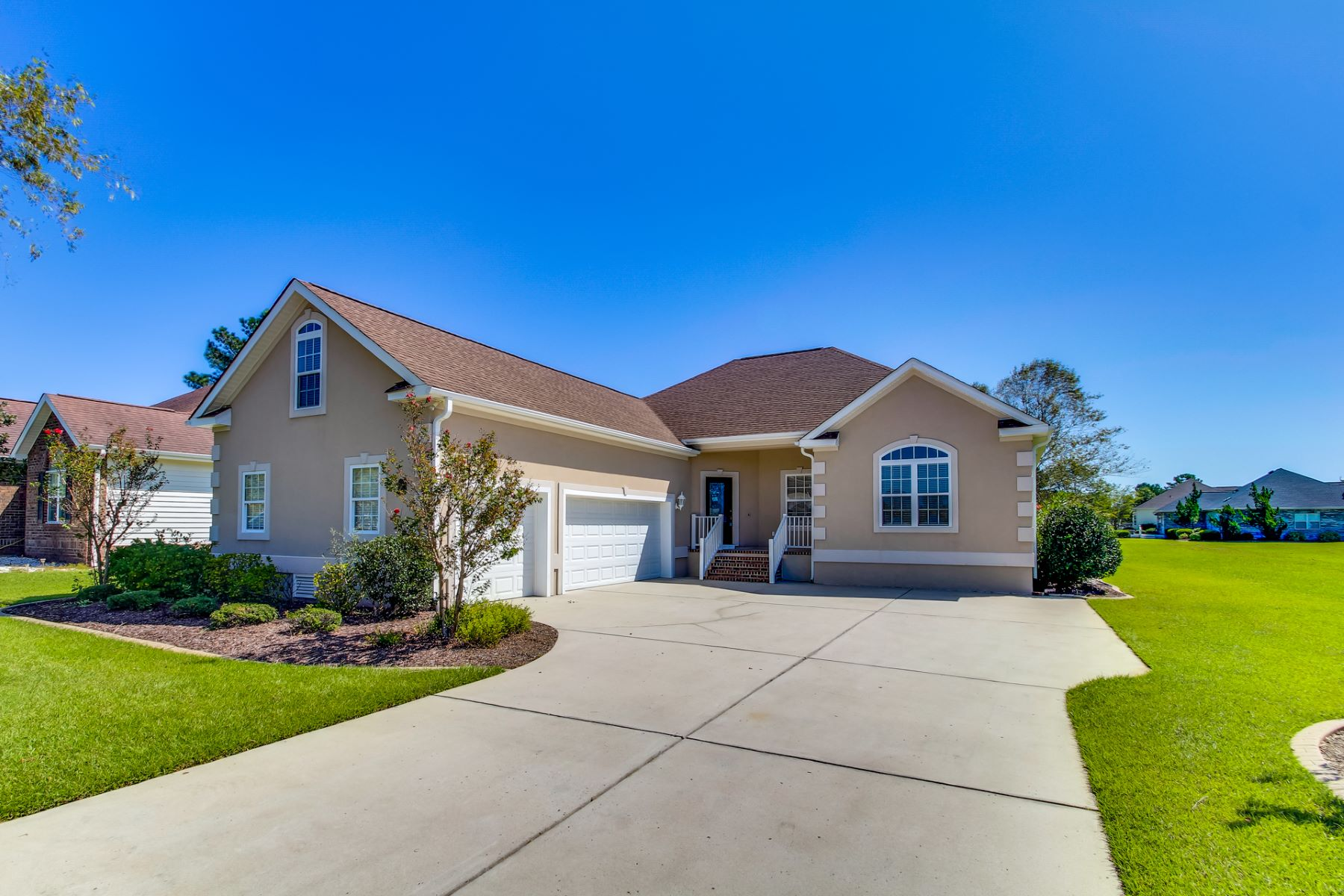 Single Family Homes for Sale at Home in Gated Golf Community 210 Monmouth Drive NW Calabash, North Carolina 28467 United States