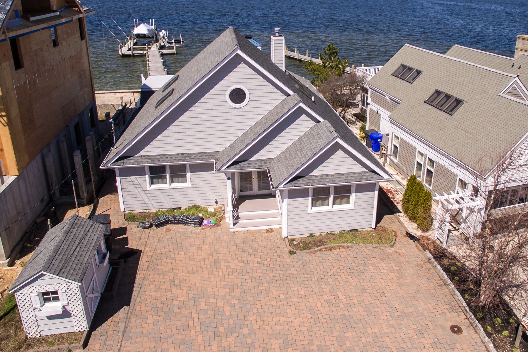 Single Family Home for Sale at Stunning Cape-Style Bayfront Home 505 Normandy Drive Normandy Beach, New Jersey 08739 United States