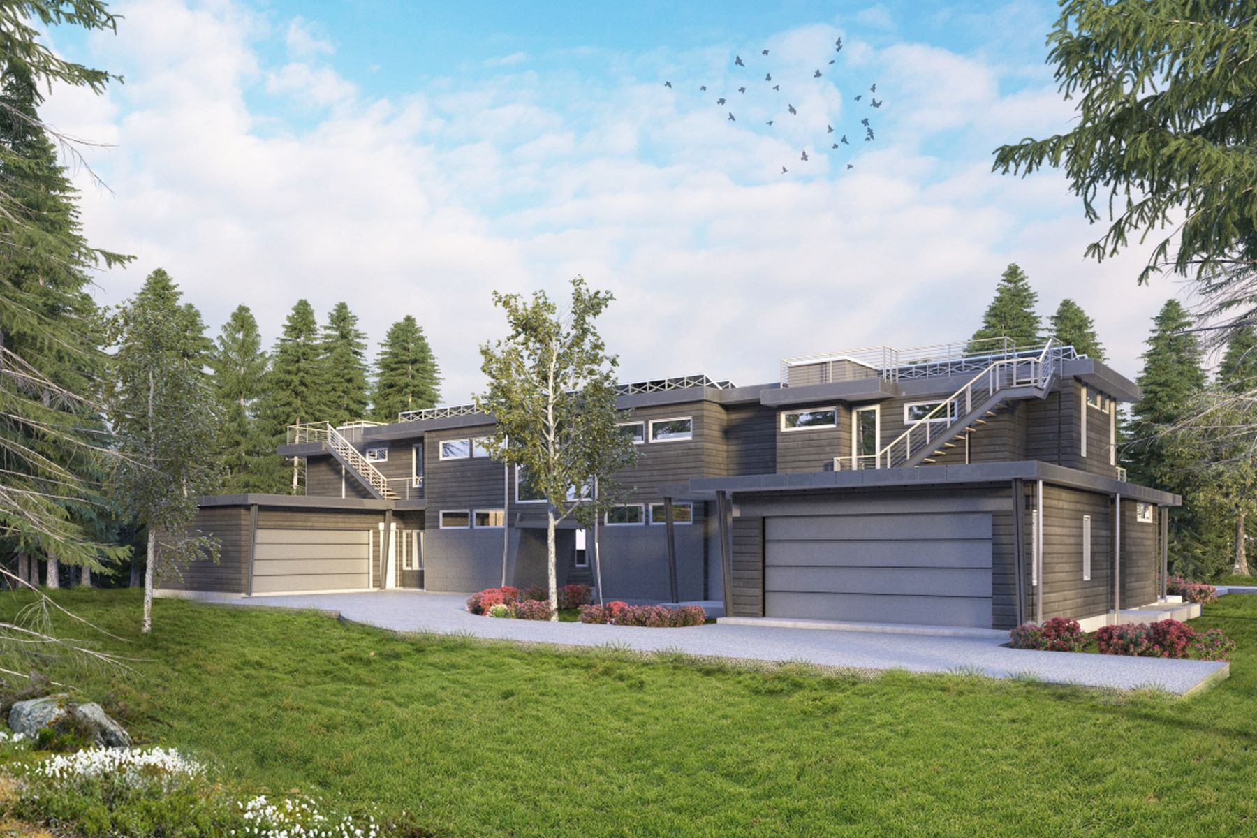 Duplex for Sale at Brand New Contemporary with Front Row Views 1510 Homestake Drive Aspen, Colorado 81611 United States