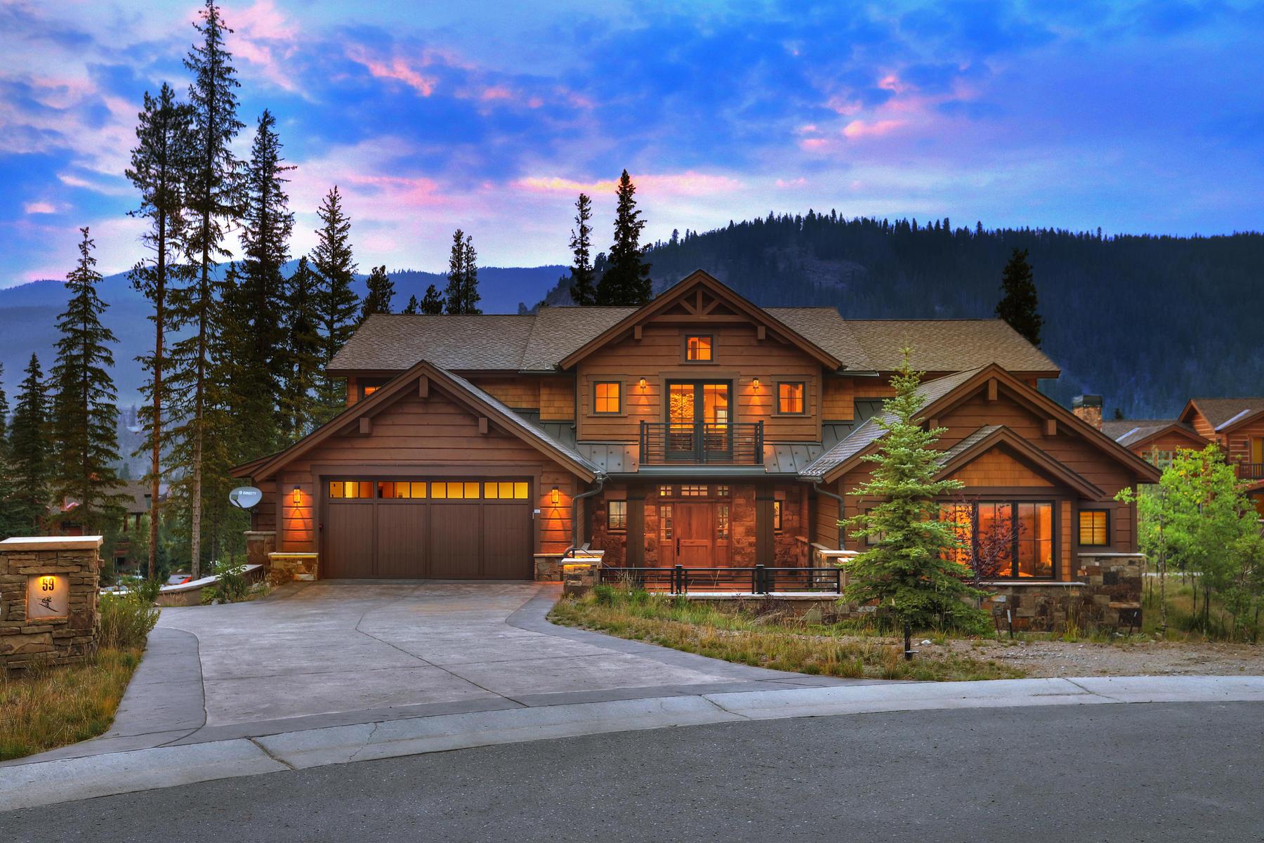 Casa Unifamiliar por un Venta en 59 E Trade Court 59 E Trade Court Keystone, Colorado 80435 Estados Unidos