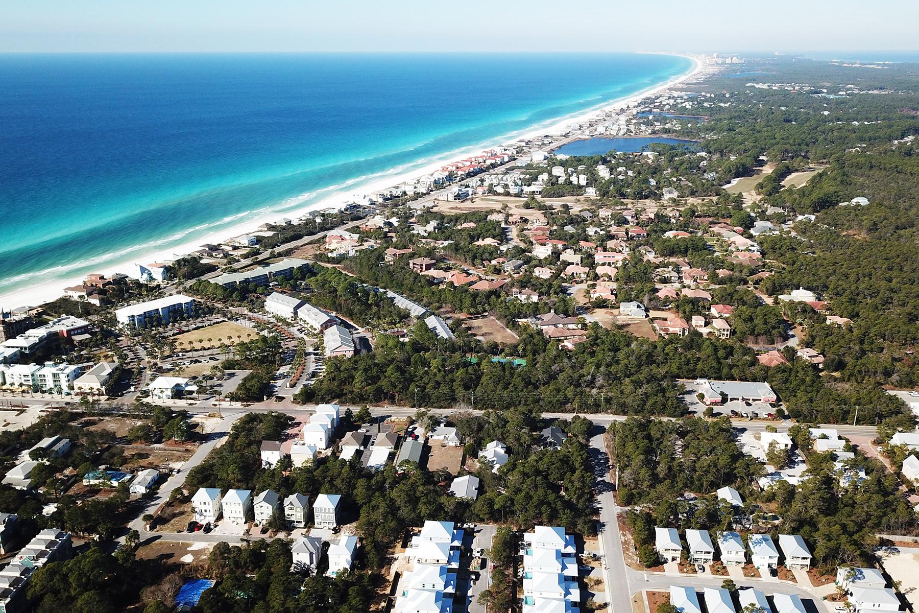 أراضي للـ Sale في Rare Commercial or Residential Development Opportunity 2.3 Acres S. County Hwy 393, Santa Rosa Beach, Florida, 32459 United States