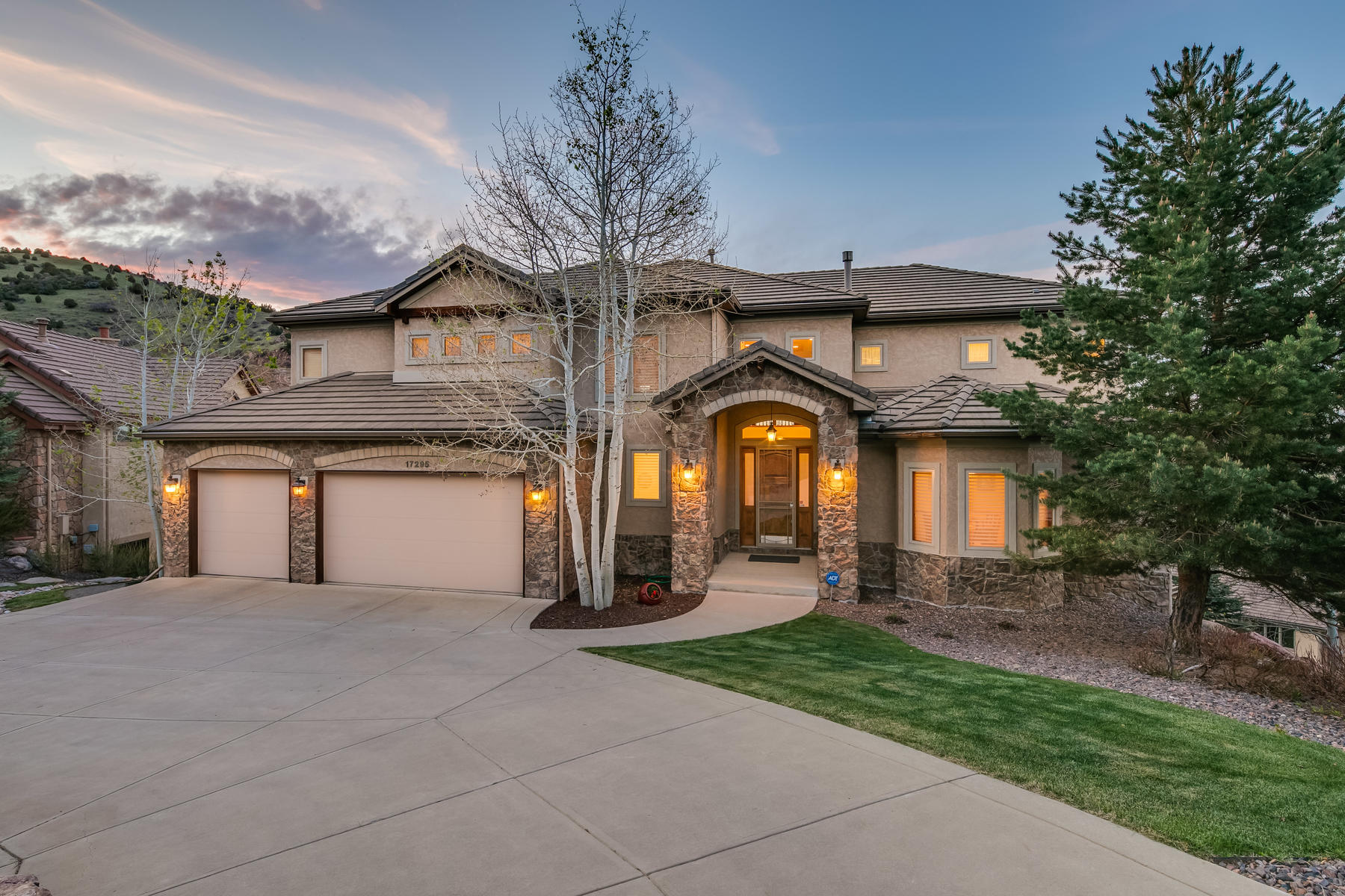 Single Family Homes for Sale at Very Special Location, Views, & Architecture 17295 Red Wolf Lane Morrison, Colorado 80465 United States