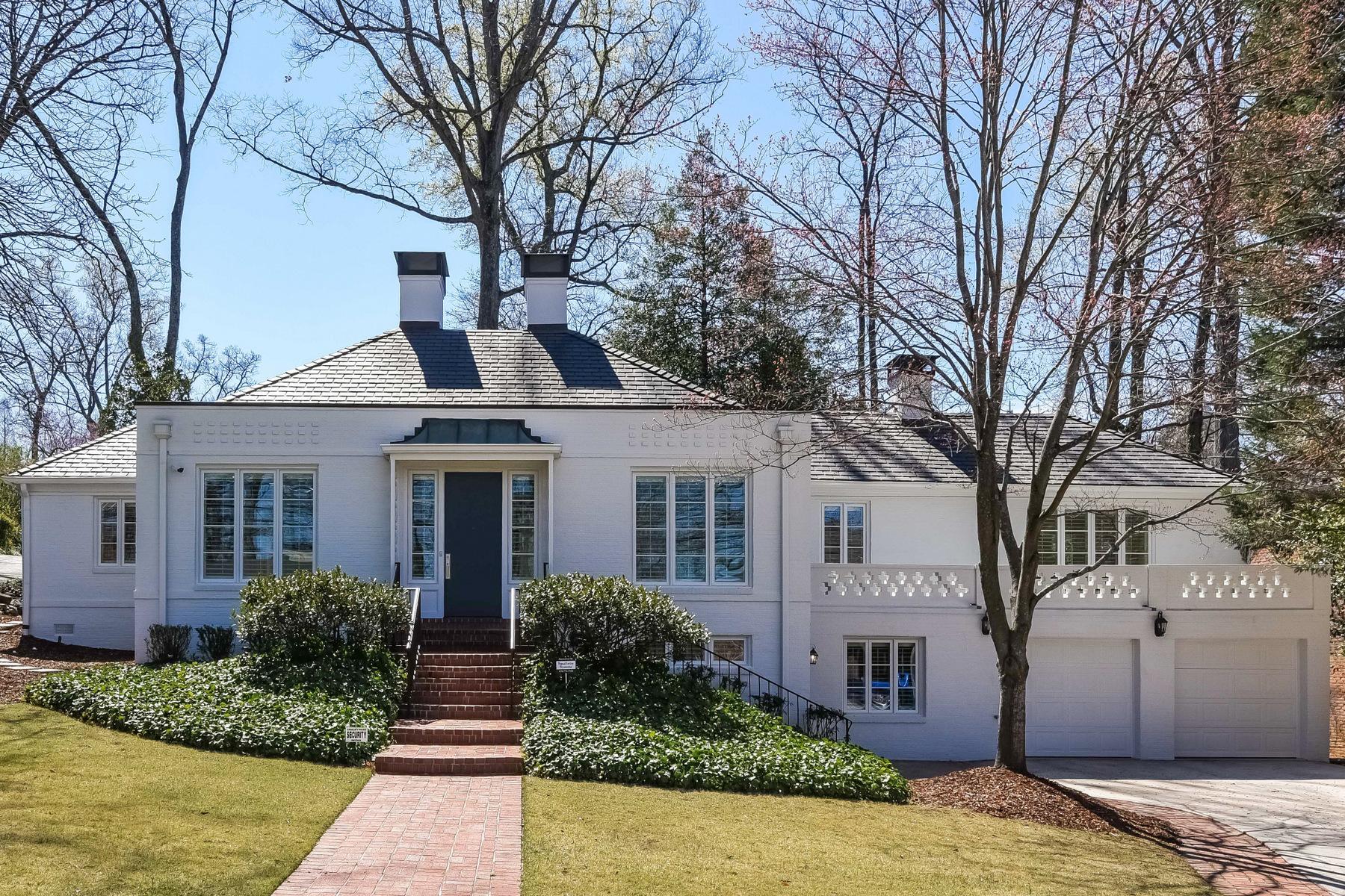 Maison unifamiliale pour l à louer à Ansley Park Treasure with Art Deco Influences 195 Beverly Road NE Ansley Park, Atlanta, Georgia, 30309 États-Unis