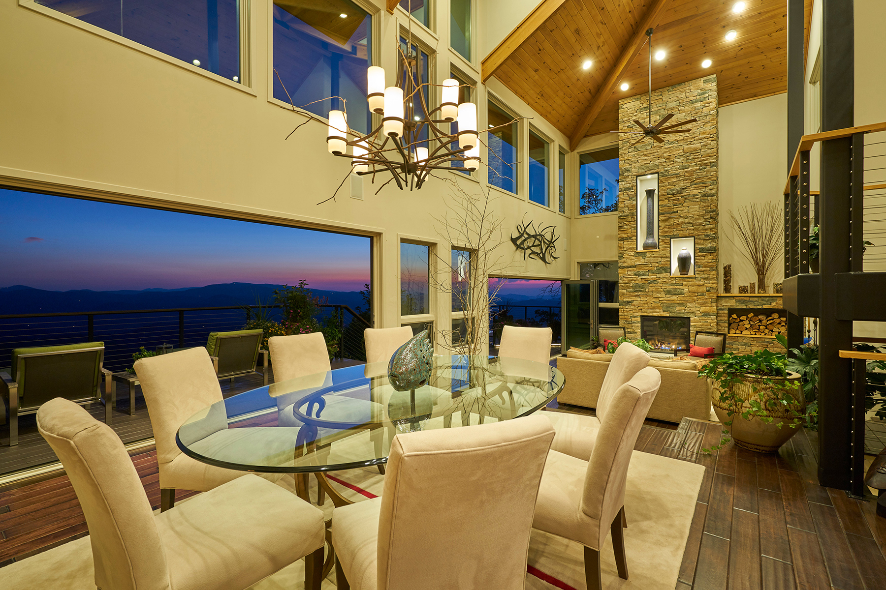 Single Family Homes for Sale at WOODLAND SPRINGS - BOONE 870 Saddle Rd Boone, North Carolina 28607 United States