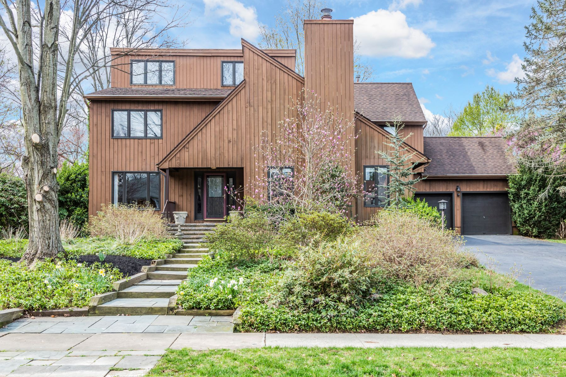Single Family Home for Sale at Striking Contemporary in Admired Woodlane Estates - Lawrence Township 3 West Laurel Wood Drive Lawrenceville, New Jersey 08648 United States