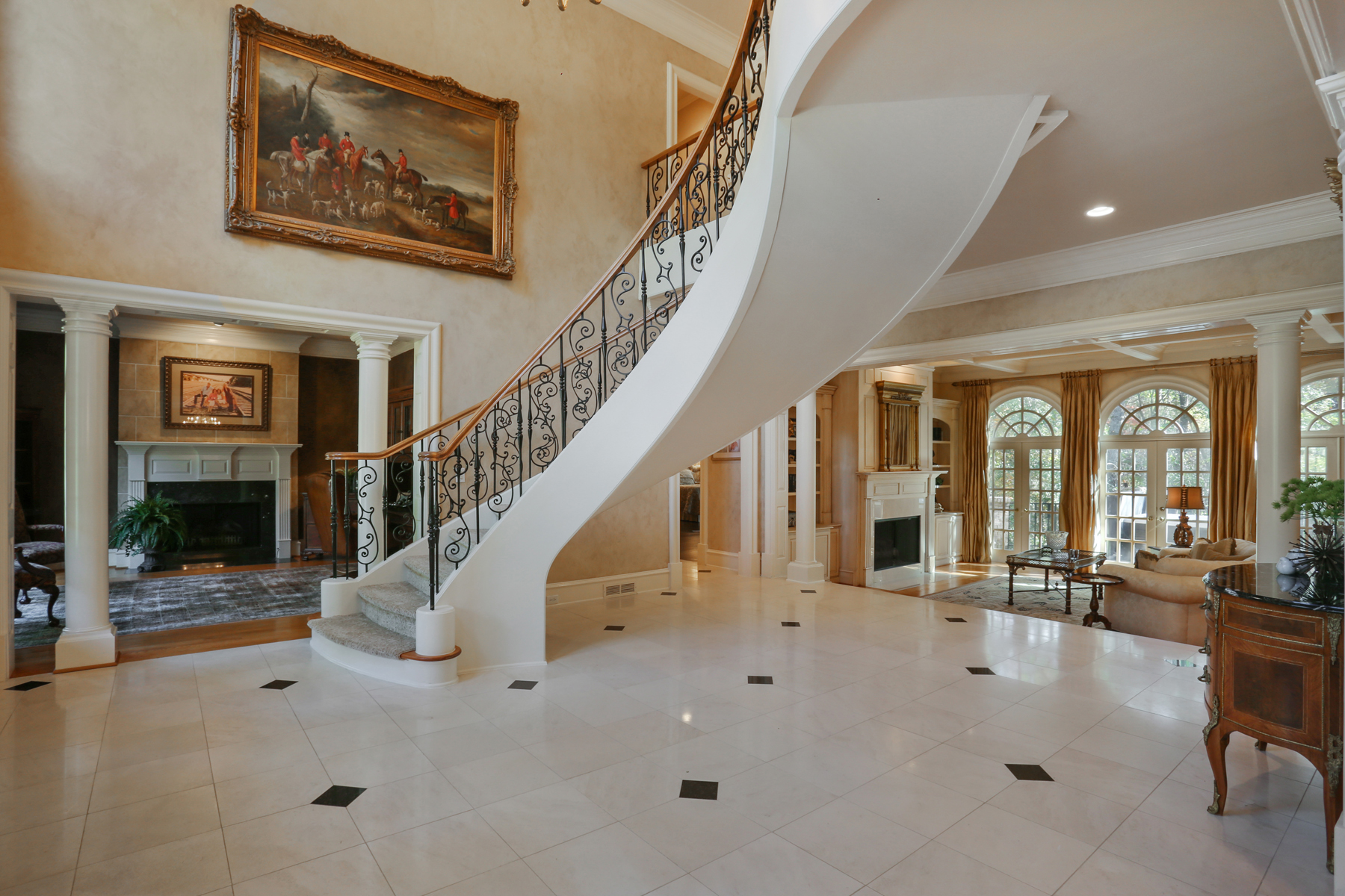 Additional photo for property listing at Exceptional Brick And Stone Estate Home In Country Club Of The South 1000 Downing Street Johns Creek, Georgia 30022 United States
