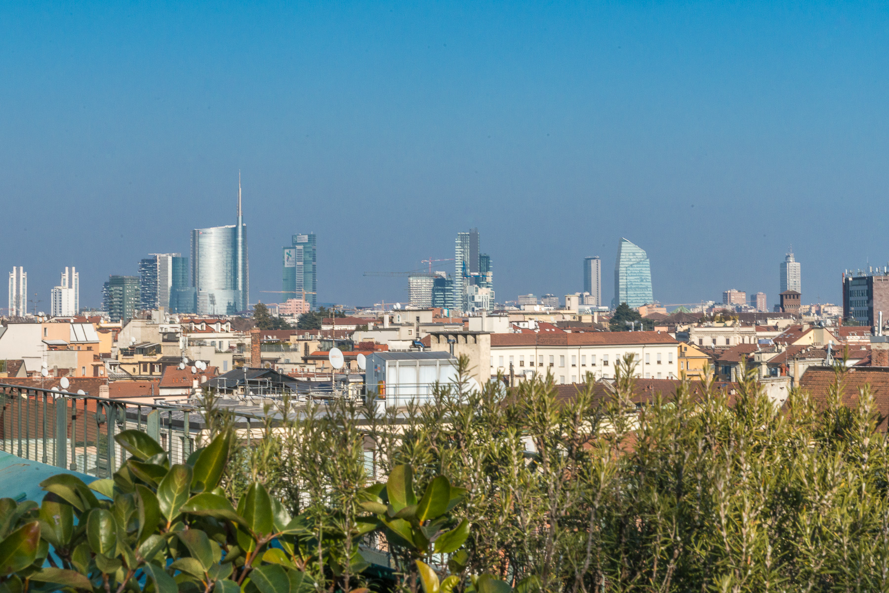 Apartment for Sale at Exquisite penthouse with views of the Milanese Skyline Via Bandello Milano, Milan, 20100 Italy