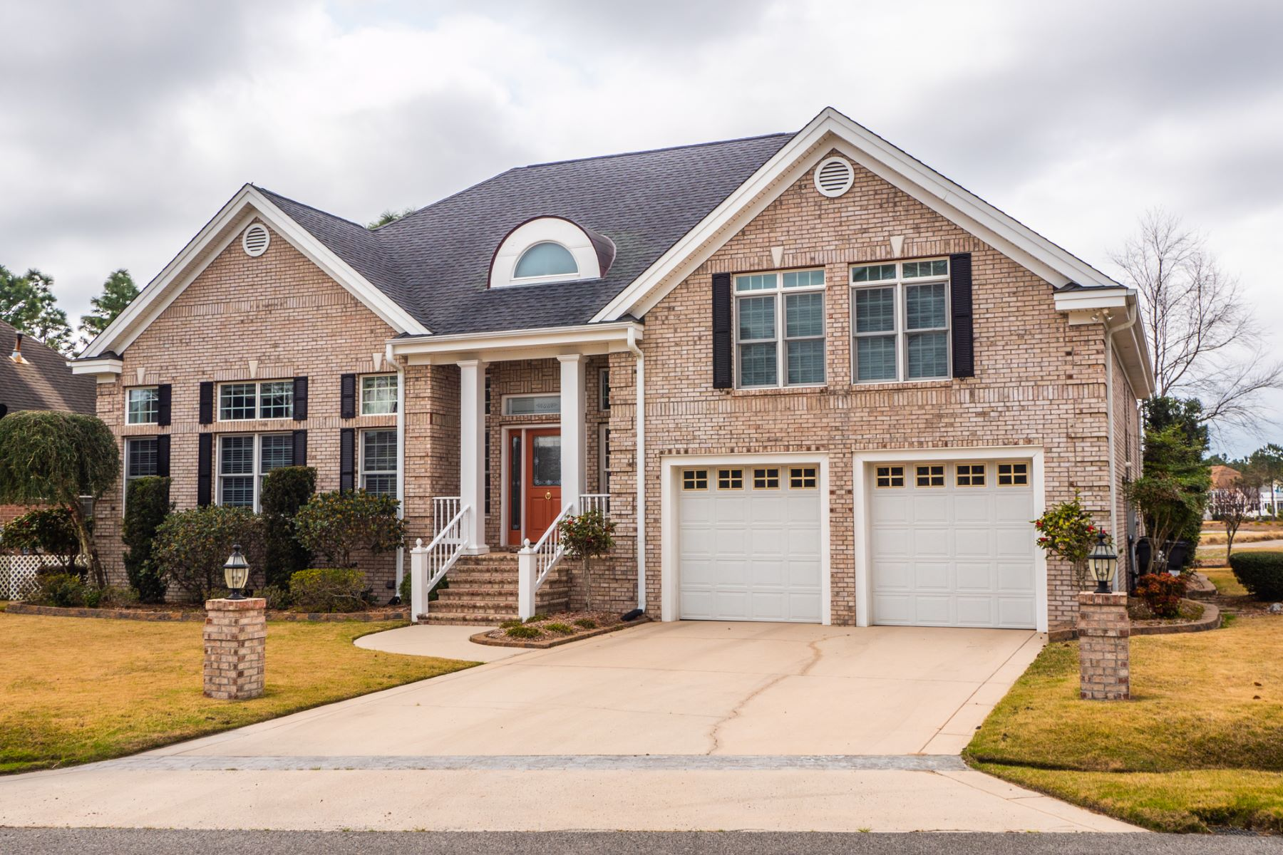 Single Family Home for Active at Custom Built Brick Home Overlooking Signature Hole on Golf Course 3561 Sanderling Drive SE Southport, North Carolina 28461 United States