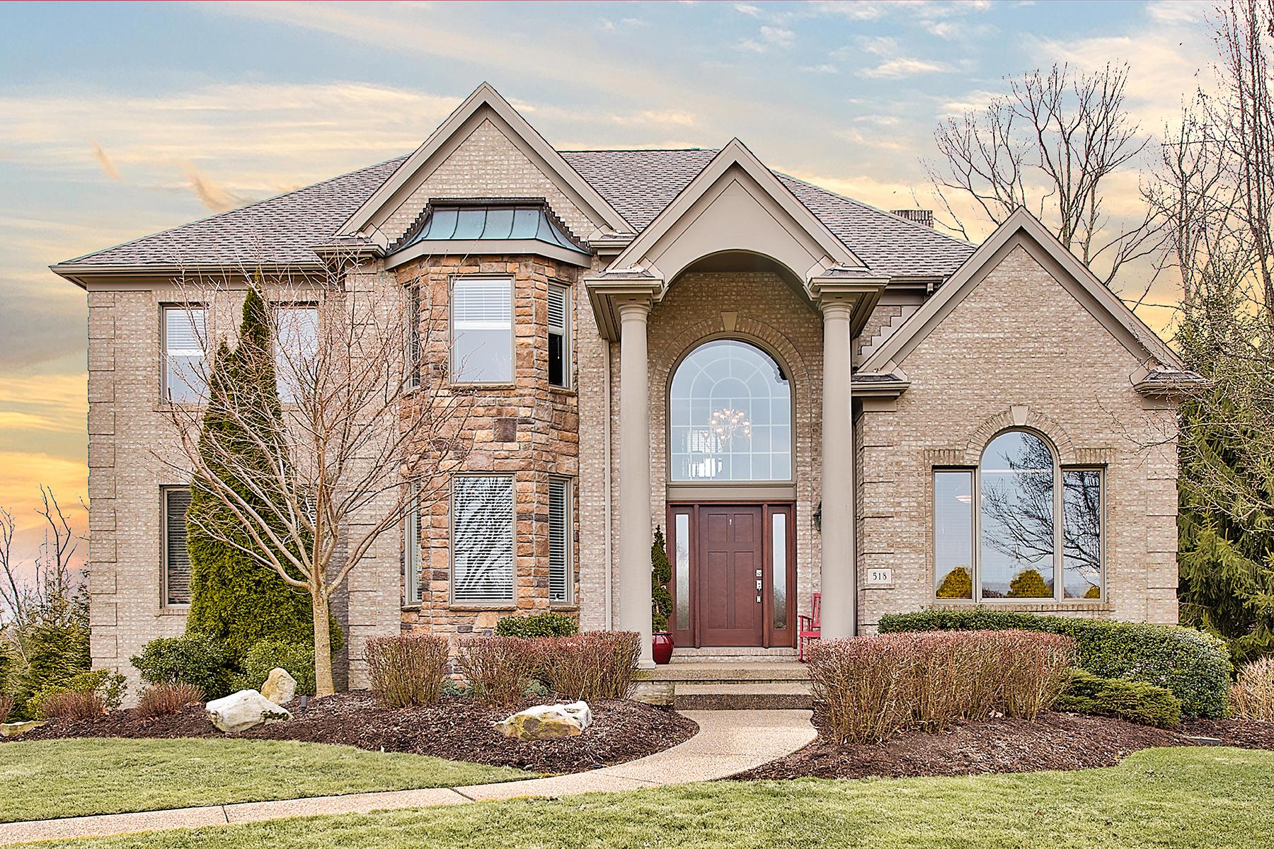 Single Family Homes για την Πώληση στο Custom Home in Golf Course Community! 518 Laurel Oak Drive, Sewickley, Πενσιλβανια 15143 Ηνωμένες Πολιτείες