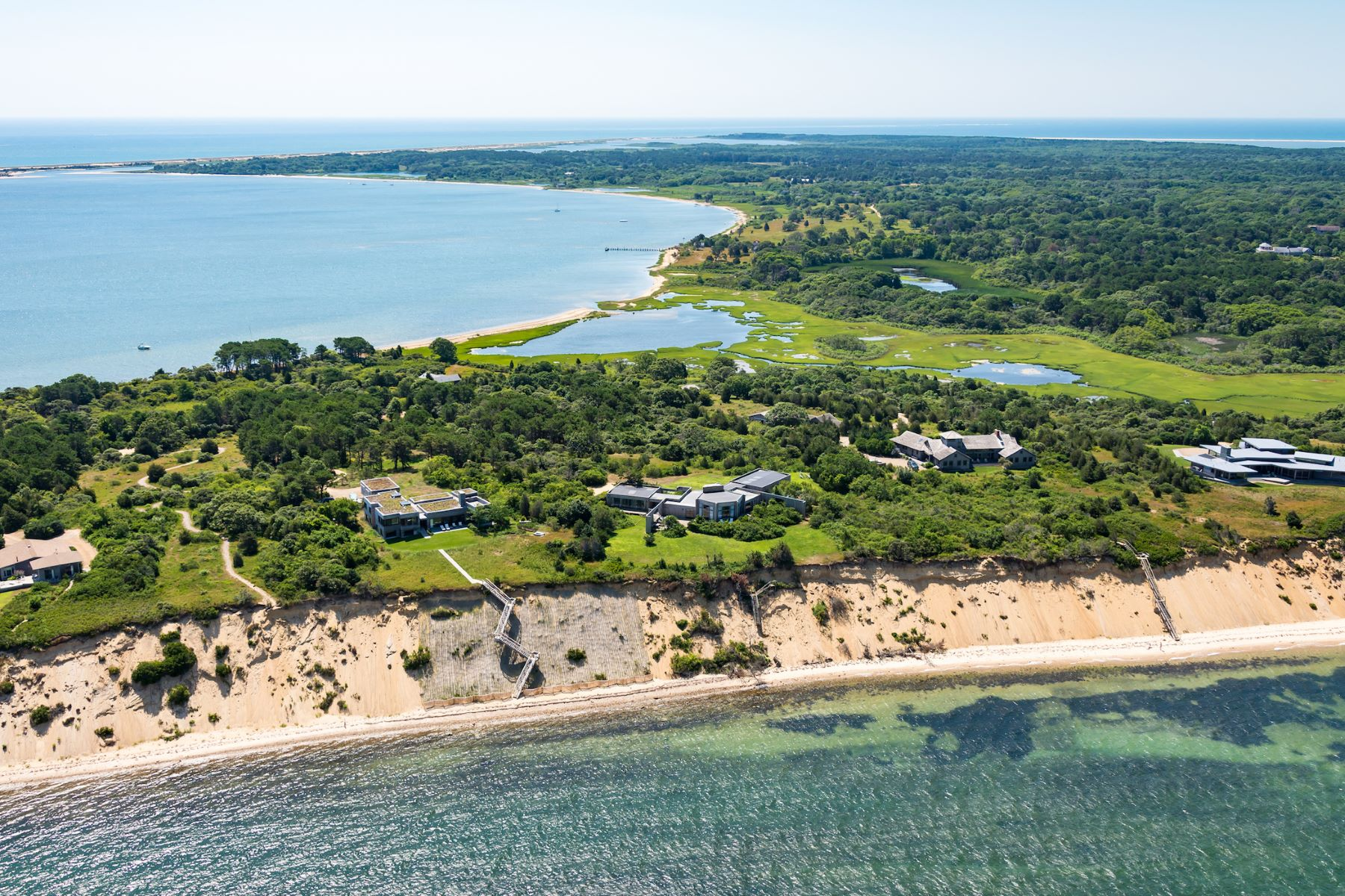 Single Family Home for Sale at Waterfront perfection on Martha's Vineyard 23 North Neck Road Edgartown, Massachusetts 02539 United States