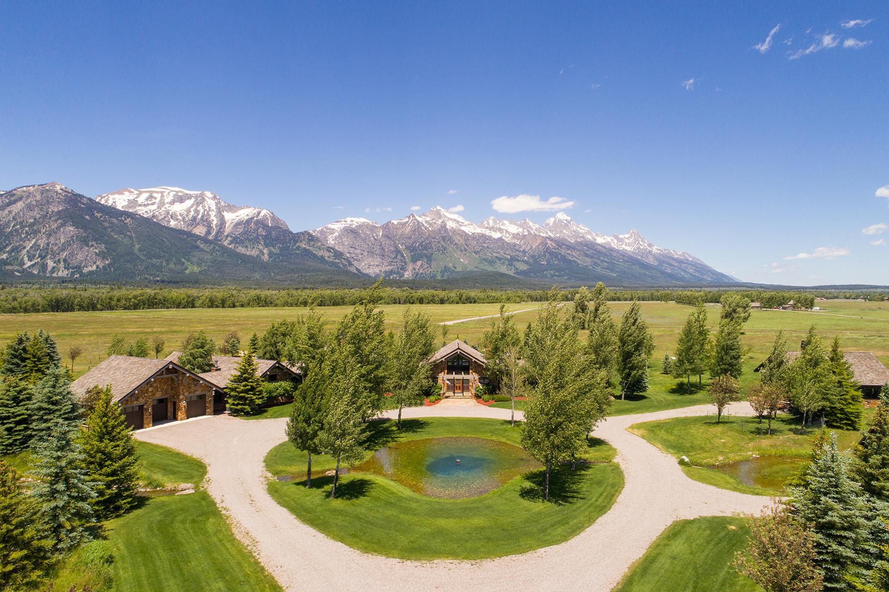 Single Family Homes voor Verkoop op Open Sky 7600 RYEGRASS RD, Jackson, Wyoming 83001 Verenigde Staten