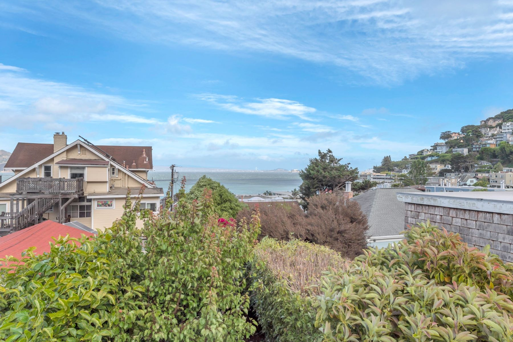 Single Family Homes for Sale at Incredible Views in the Heart of Old Town Sausalito 208 4th Street, Sausalito, California 94965 United States