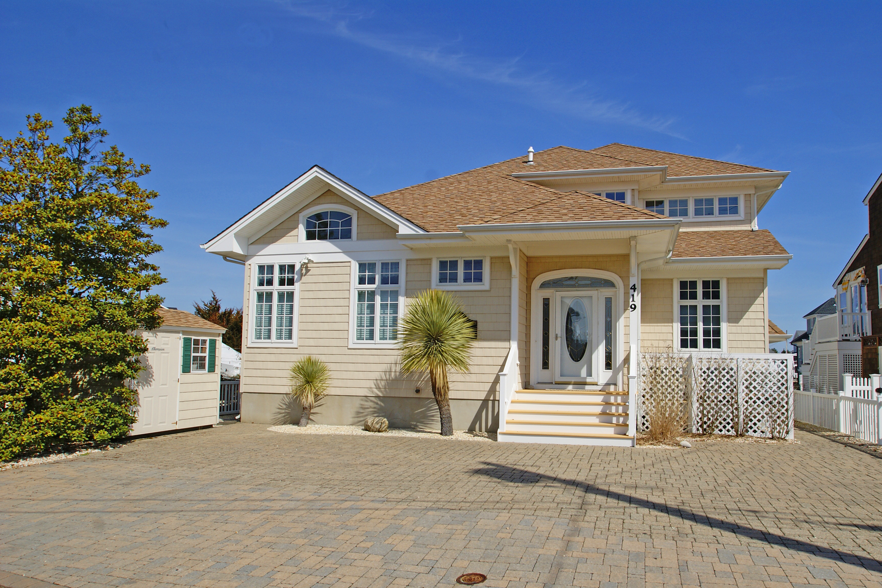 Moradia para Venda às Stunning Lagoon Front Home 419 7th Avenue, Normandy Beach, Nova Jersey 08739 Estados Unidos