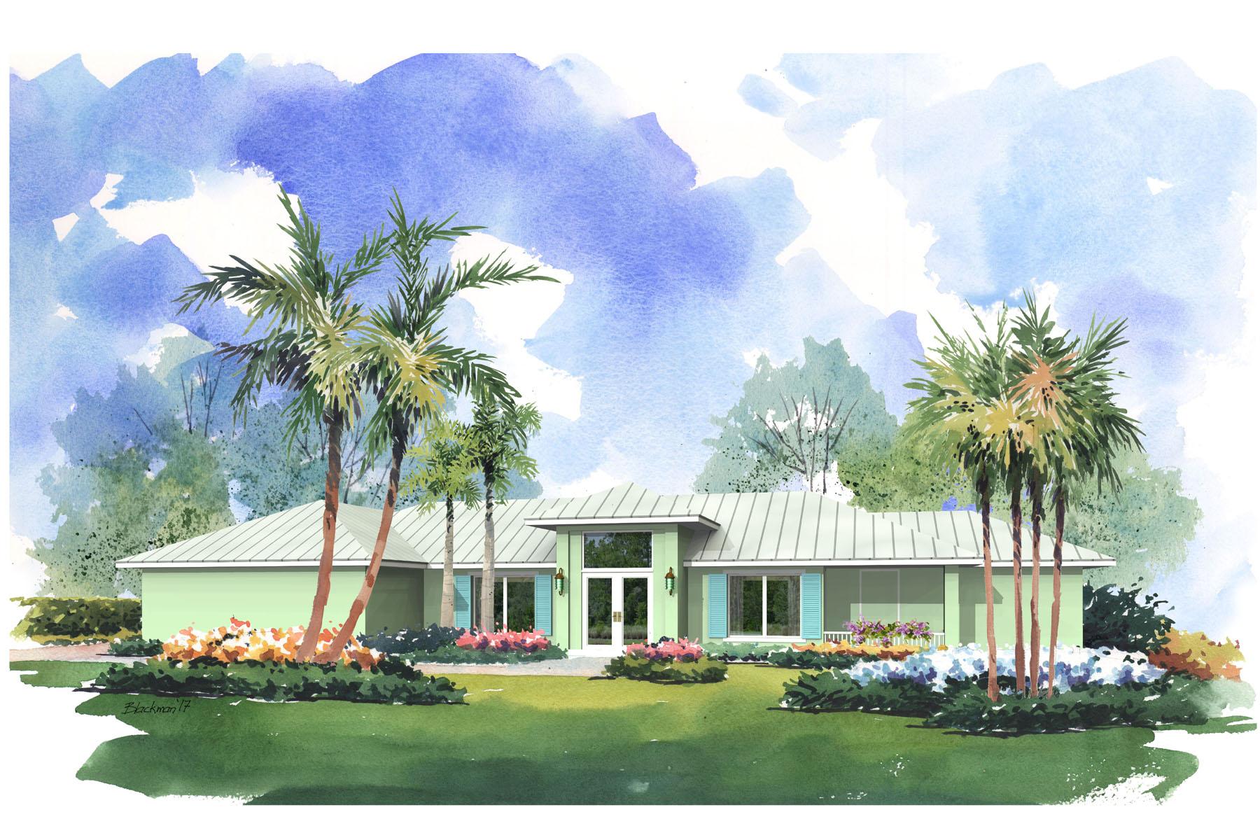 Vivienda unifamiliar por un Venta en Newly Renovated Home at Ocean Reef 8 Golf Terrace Key Largo, Florida, 33037 Estados Unidos