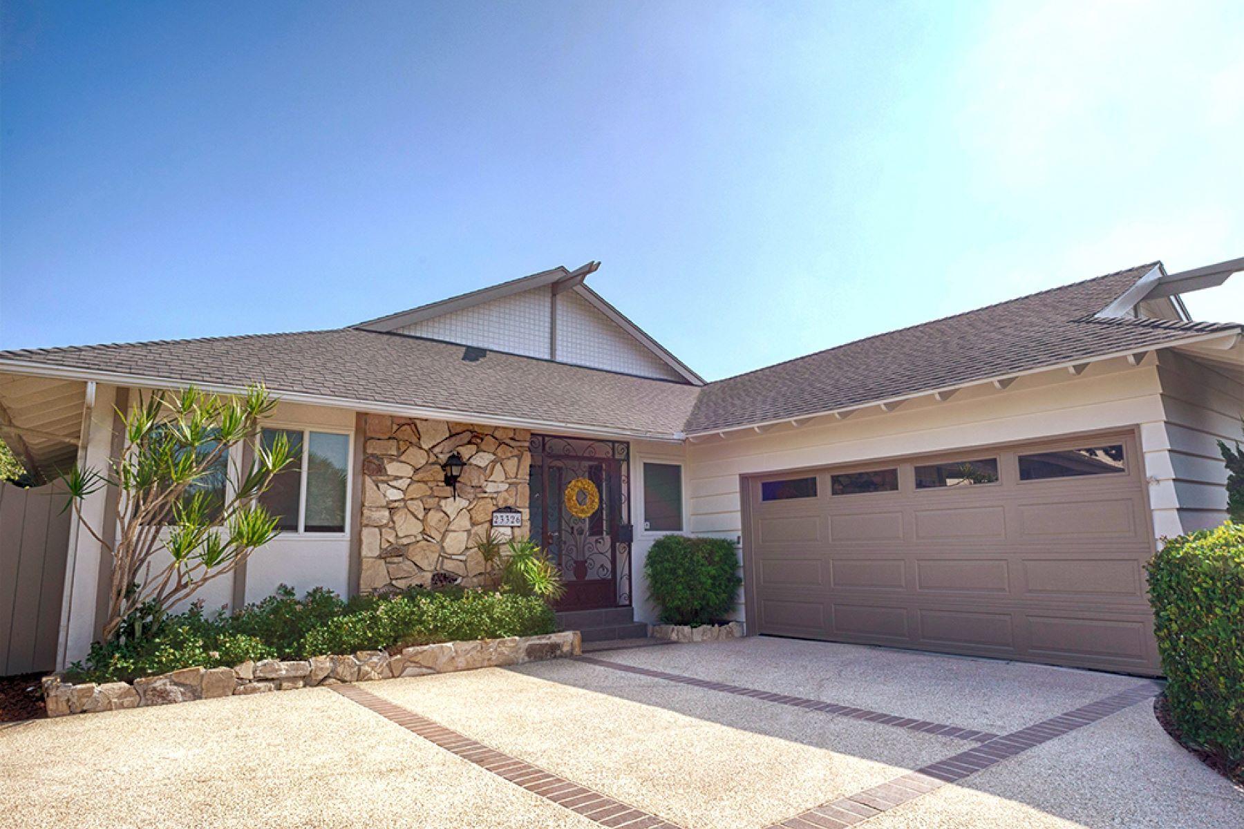 Частный односемейный дом для того Продажа на 23326 Ocean Av, Torrance 90505 23326 Ocean Ave Torrance, Калифорния 90505 Соединенные Штаты