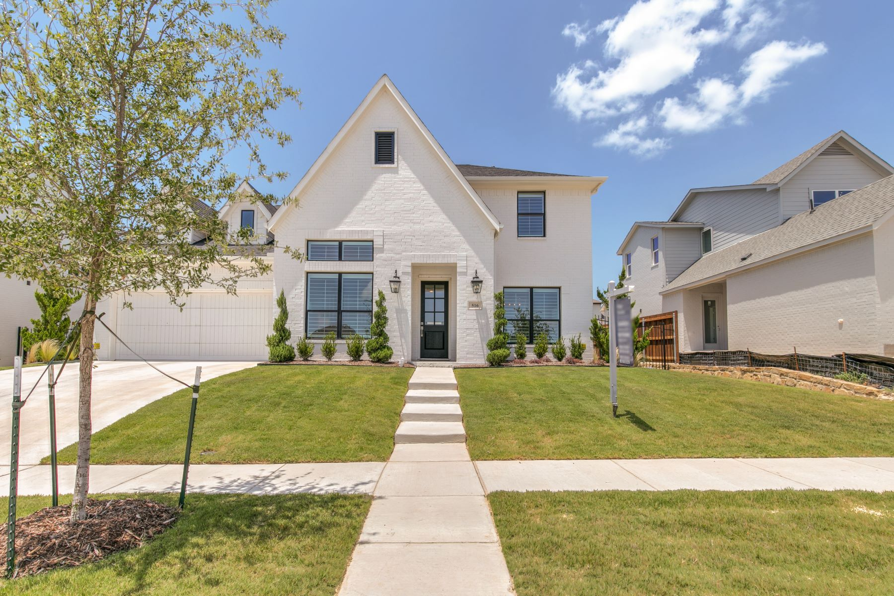 Single Family Homes for Sale at Newly constructed Village Homes masterpiece on larger lot in sought after Aledo 516 Point Vista Drive Aledo, Texas 76008 United States