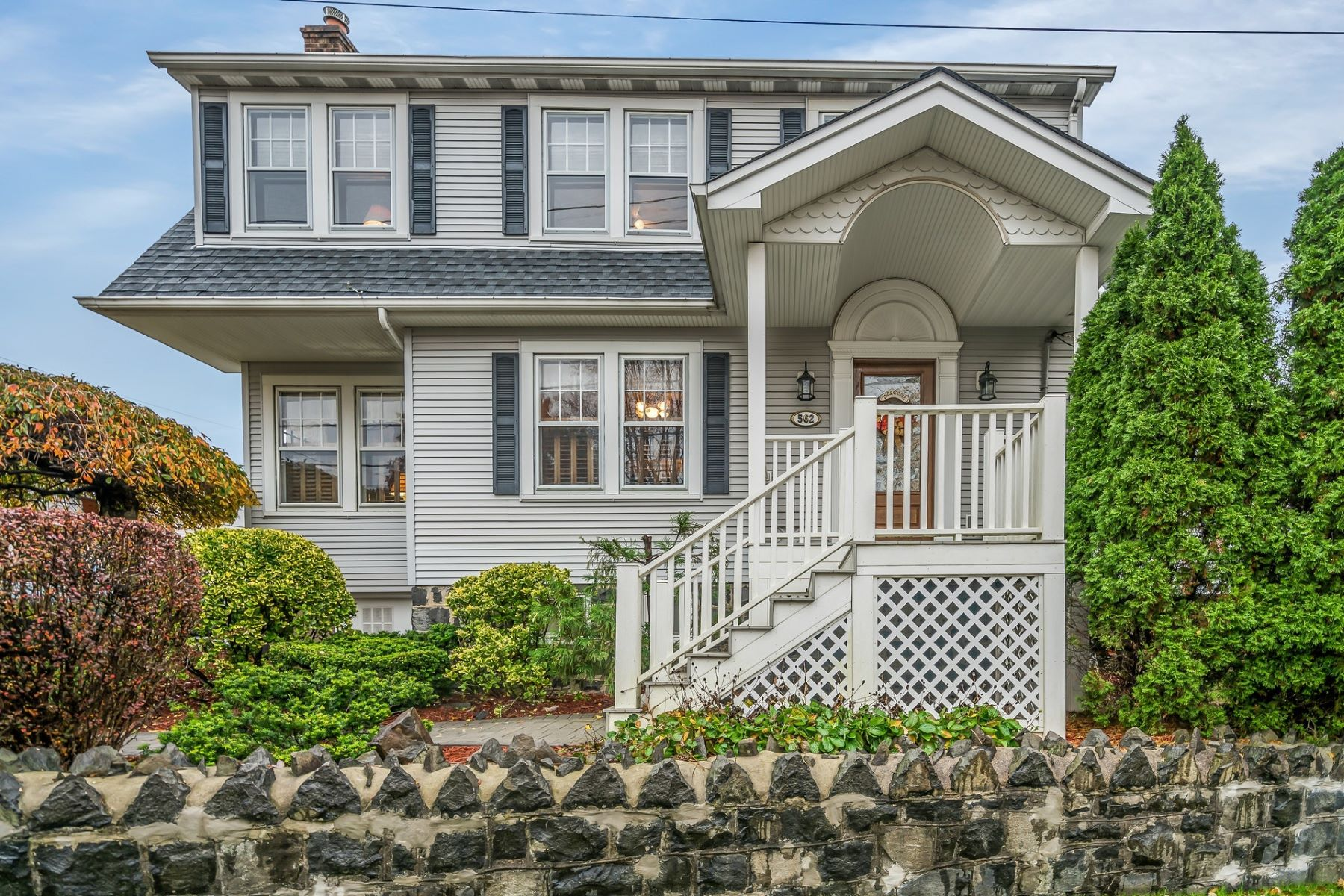 Single Family Home for Sale at Beautiful Dutch Colonial 562 Winterburn Grv, Cliffside Park, New Jersey 07010 United States