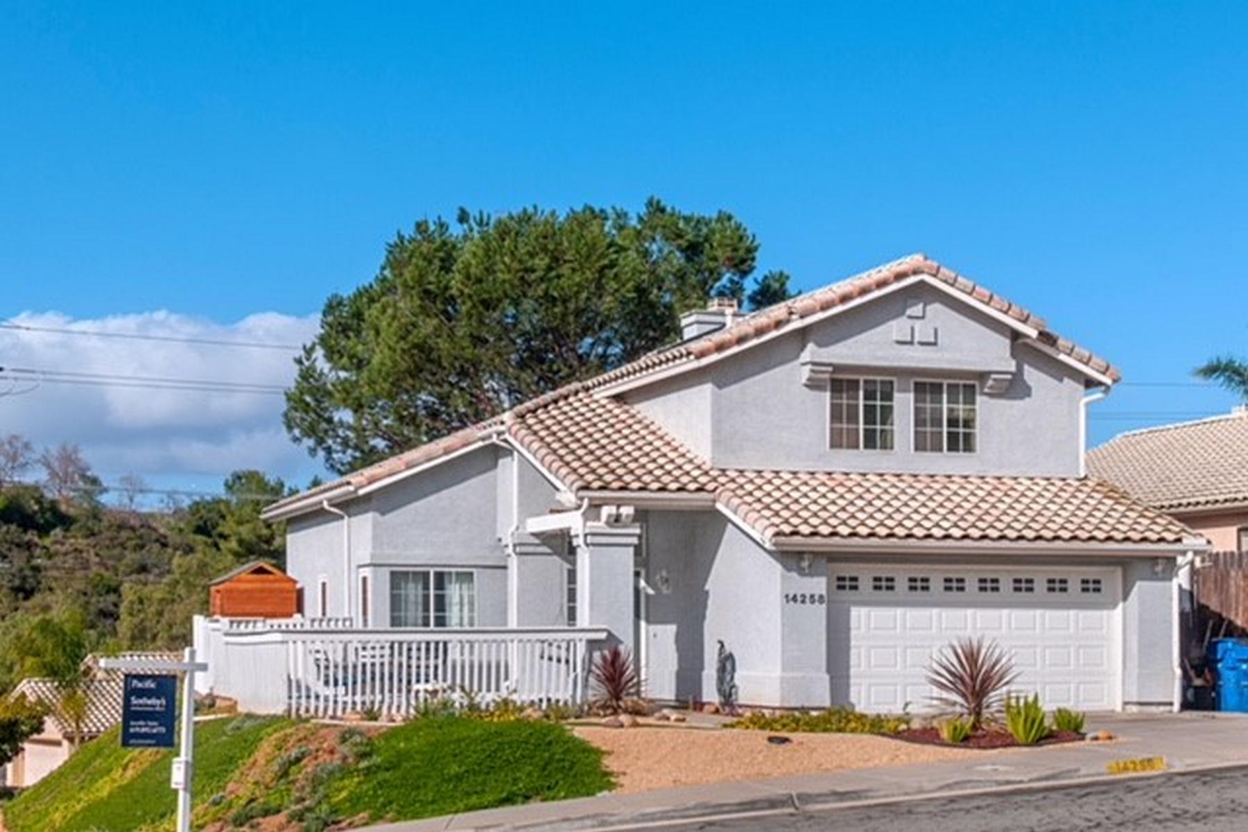 Частный односемейный дом для того Продажа на 14258 Legacy Lane El Cajon, Калифорния, 92021 Соединенные Штаты