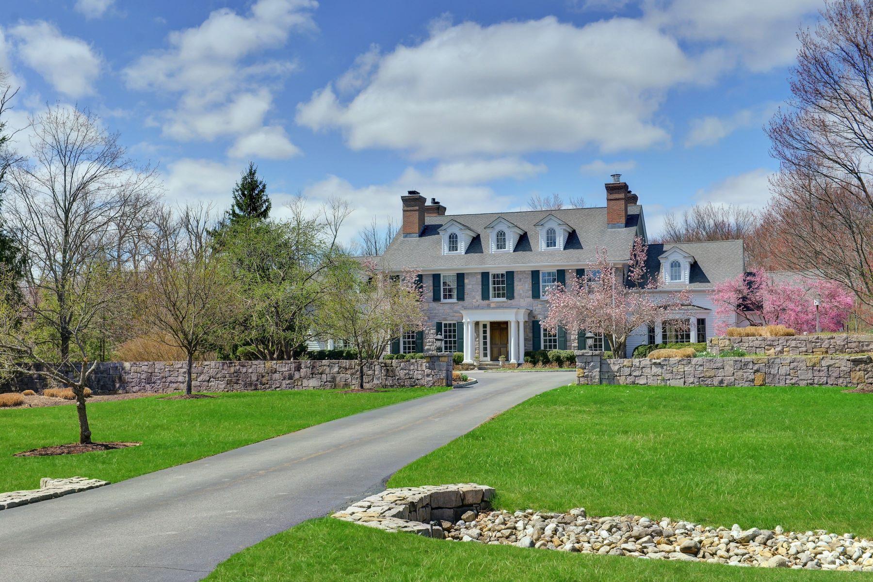 Casa Unifamiliar por un Venta en Spacious Colonial Estate 99 Treadwell Avenue, Harding Township, Nueva Jersey 07940 Estados Unidos