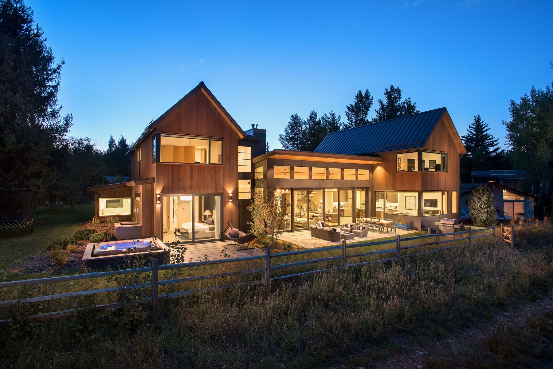 Single Family Homes for Sale at Modern Elegance on Snowbunny 1260 Snowbunny Lane Aspen, Colorado 81611 United States